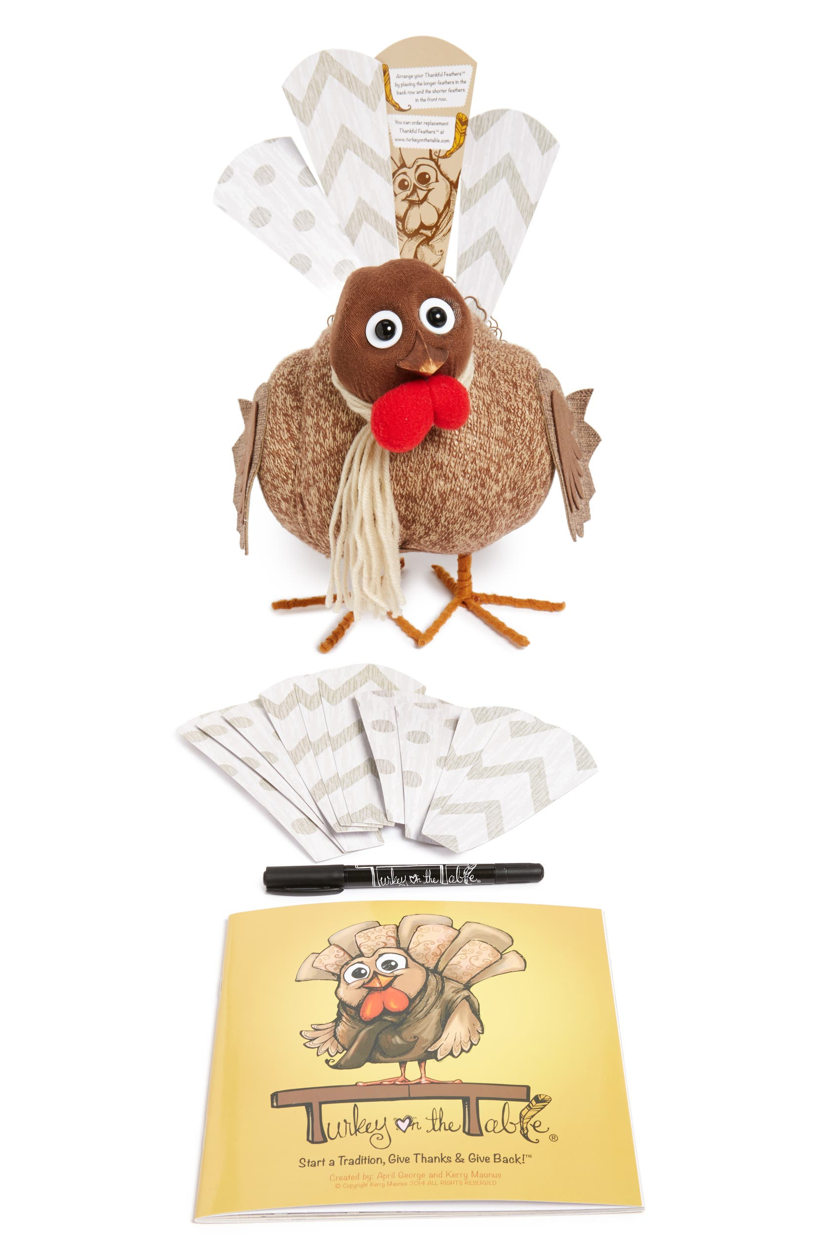 c76ec0d04c3 Turkey on the Table Turkey Activity Kit