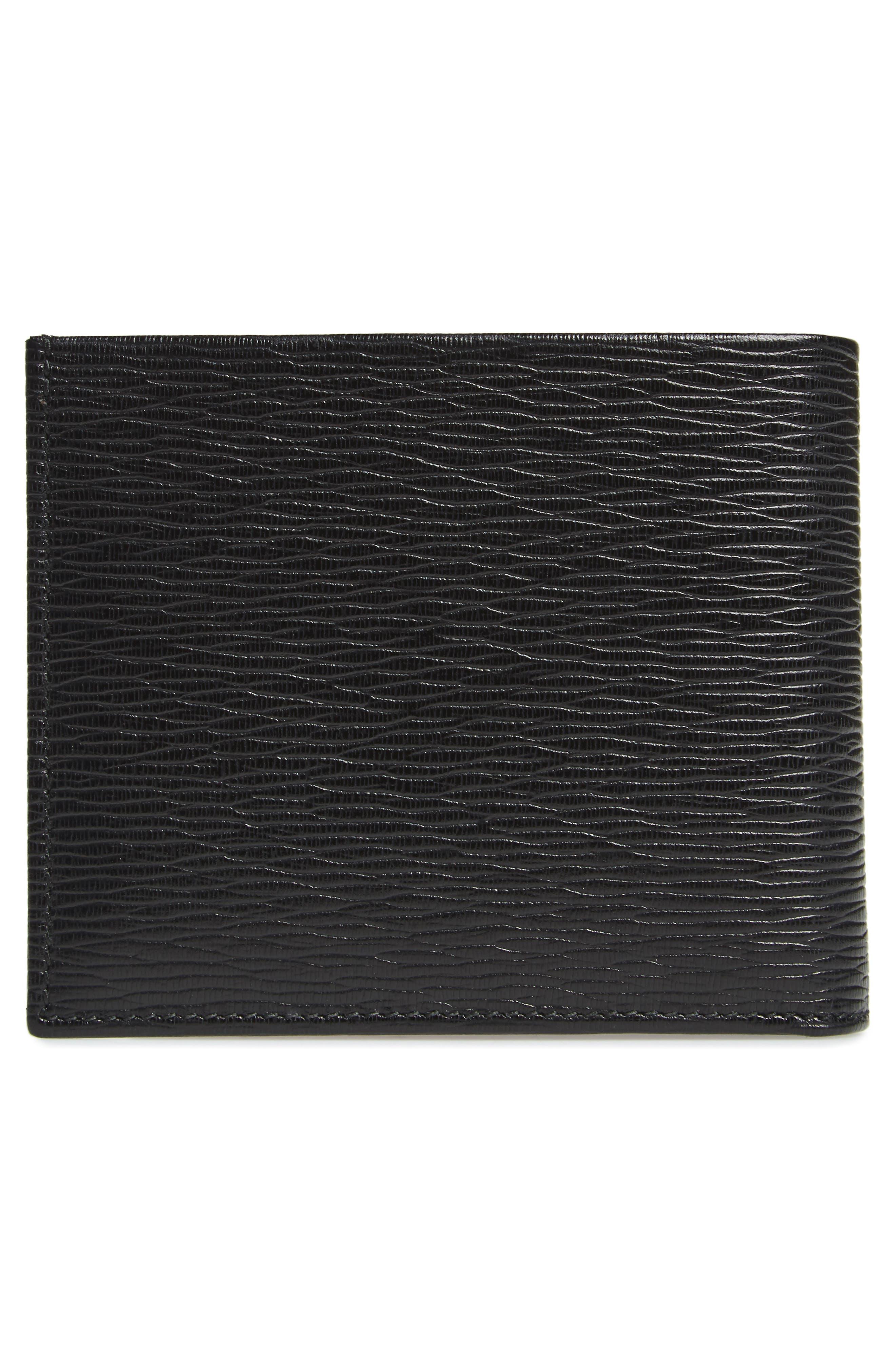 Revival Leather Wallet,                             Alternate thumbnail 3, color,                             009