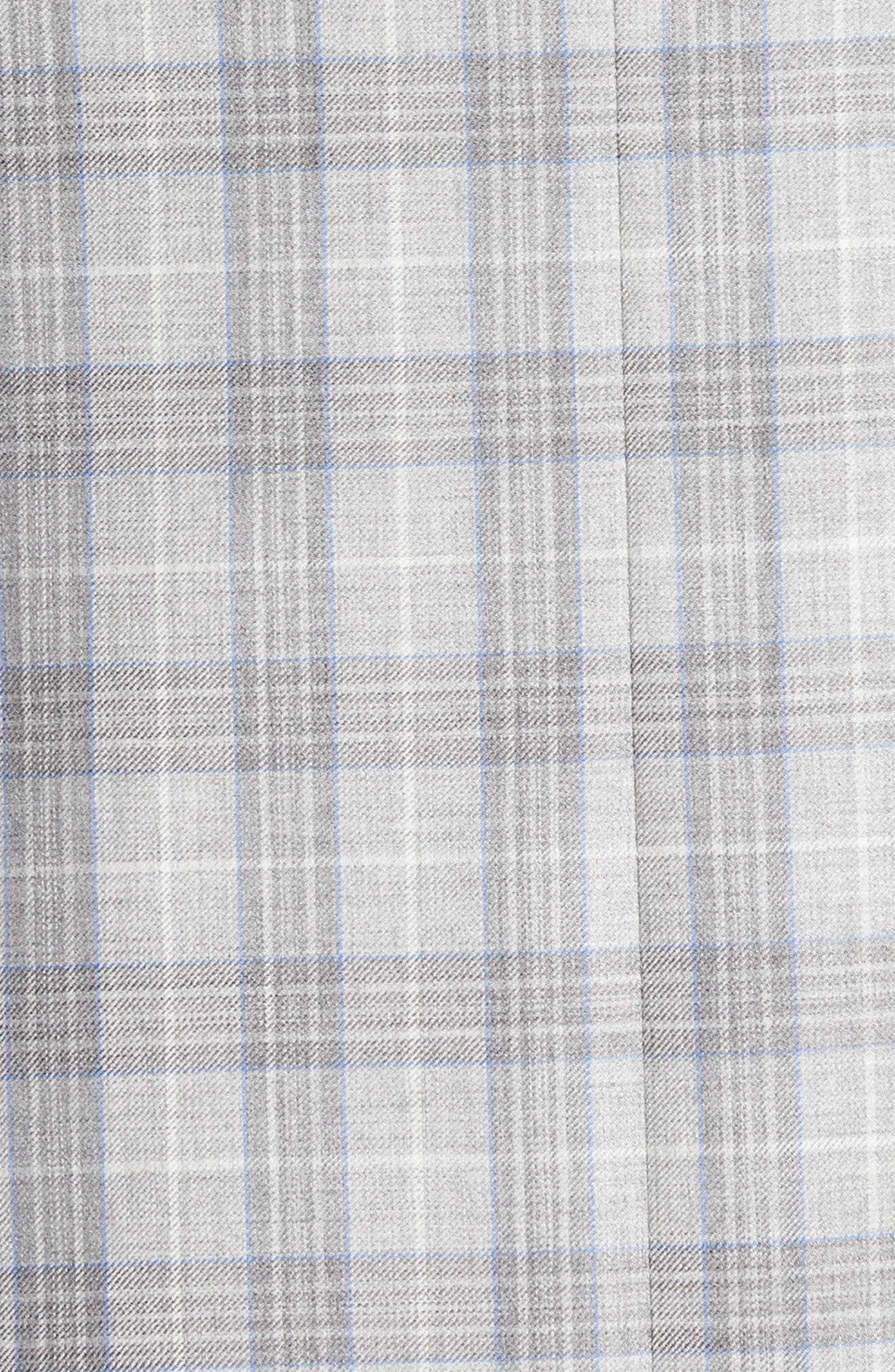 Flynn Classic Fit Plaid Wool Sport Coat,                             Alternate thumbnail 6, color,                             020