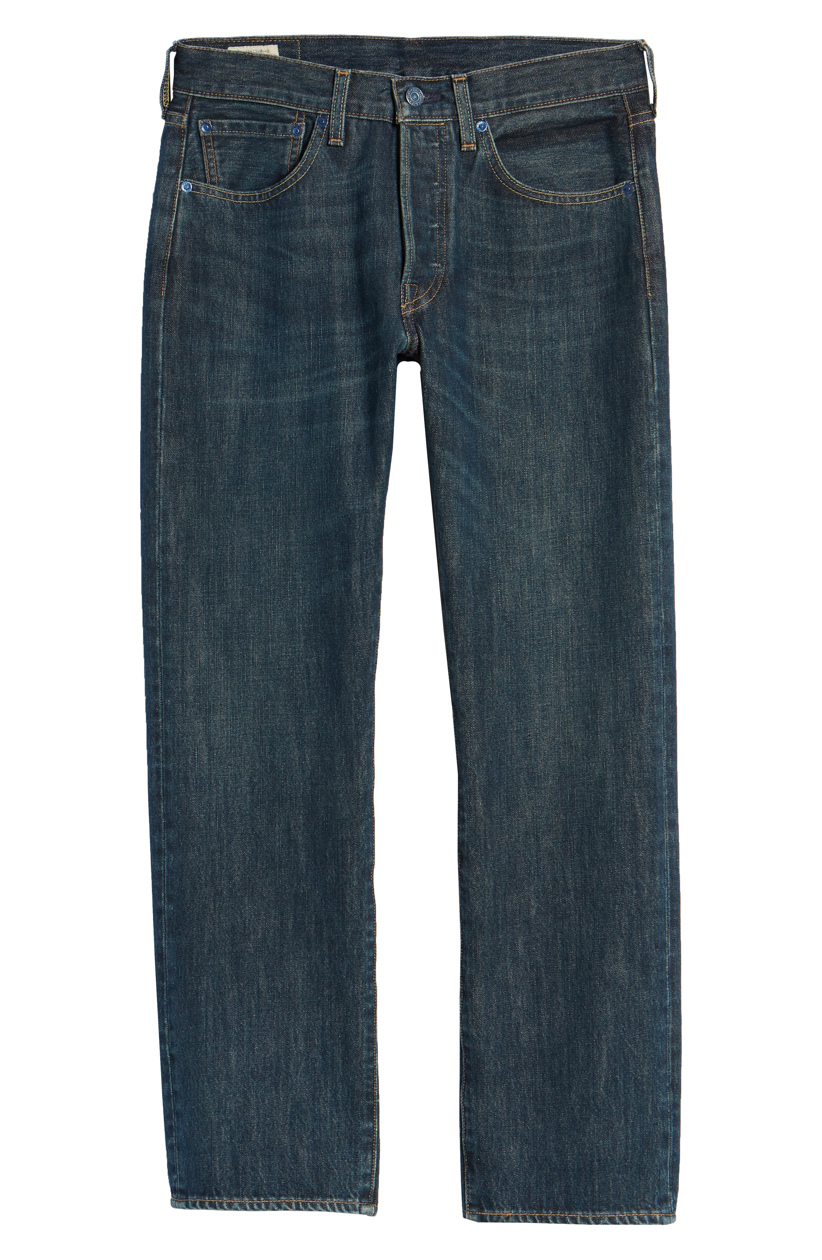 501<sup>®</sup> Straight Leg Jeans,                             Alternate thumbnail 6, color,                             SNOOT