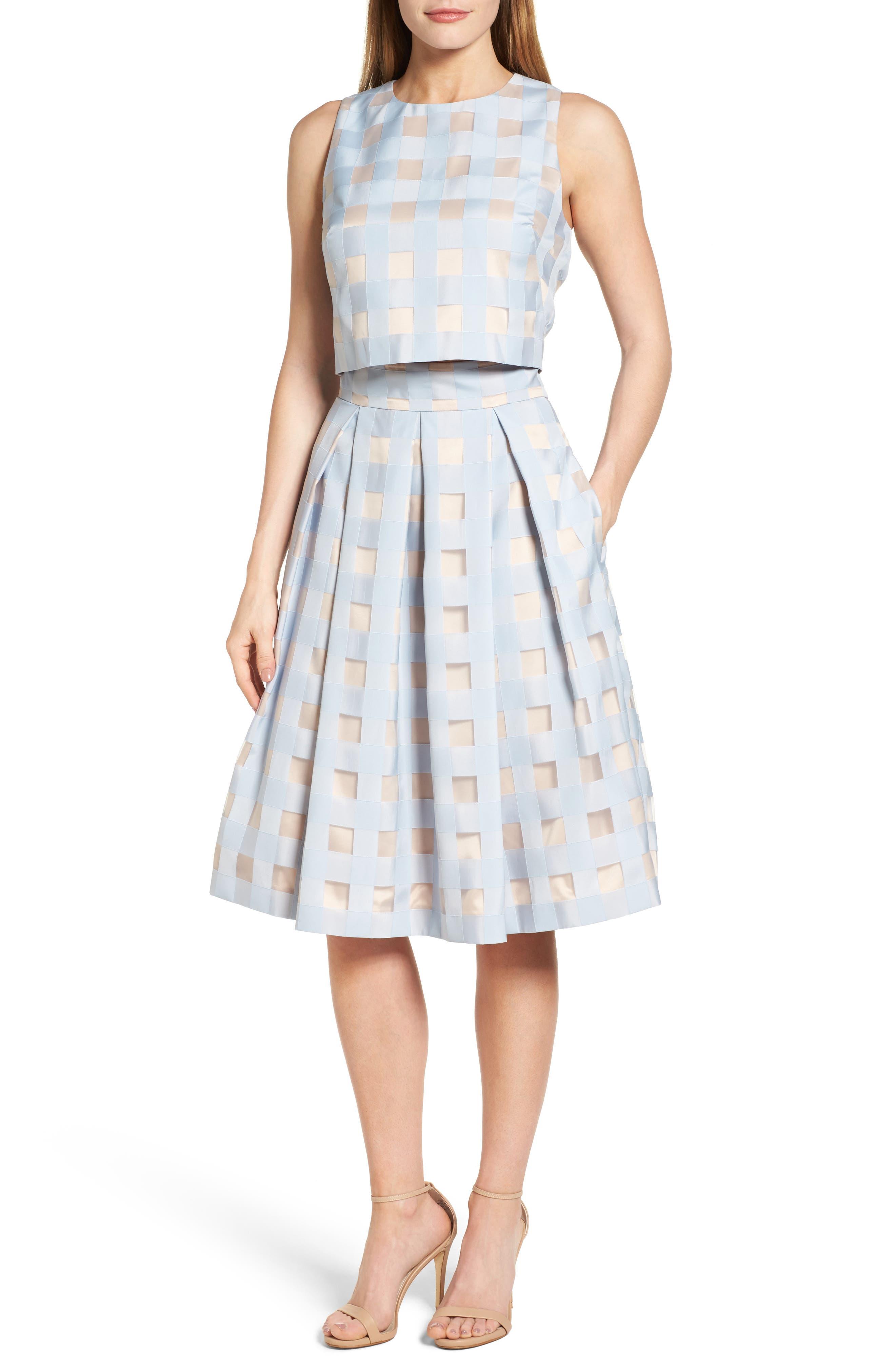 Two-Piece Dress, Main, color, 421
