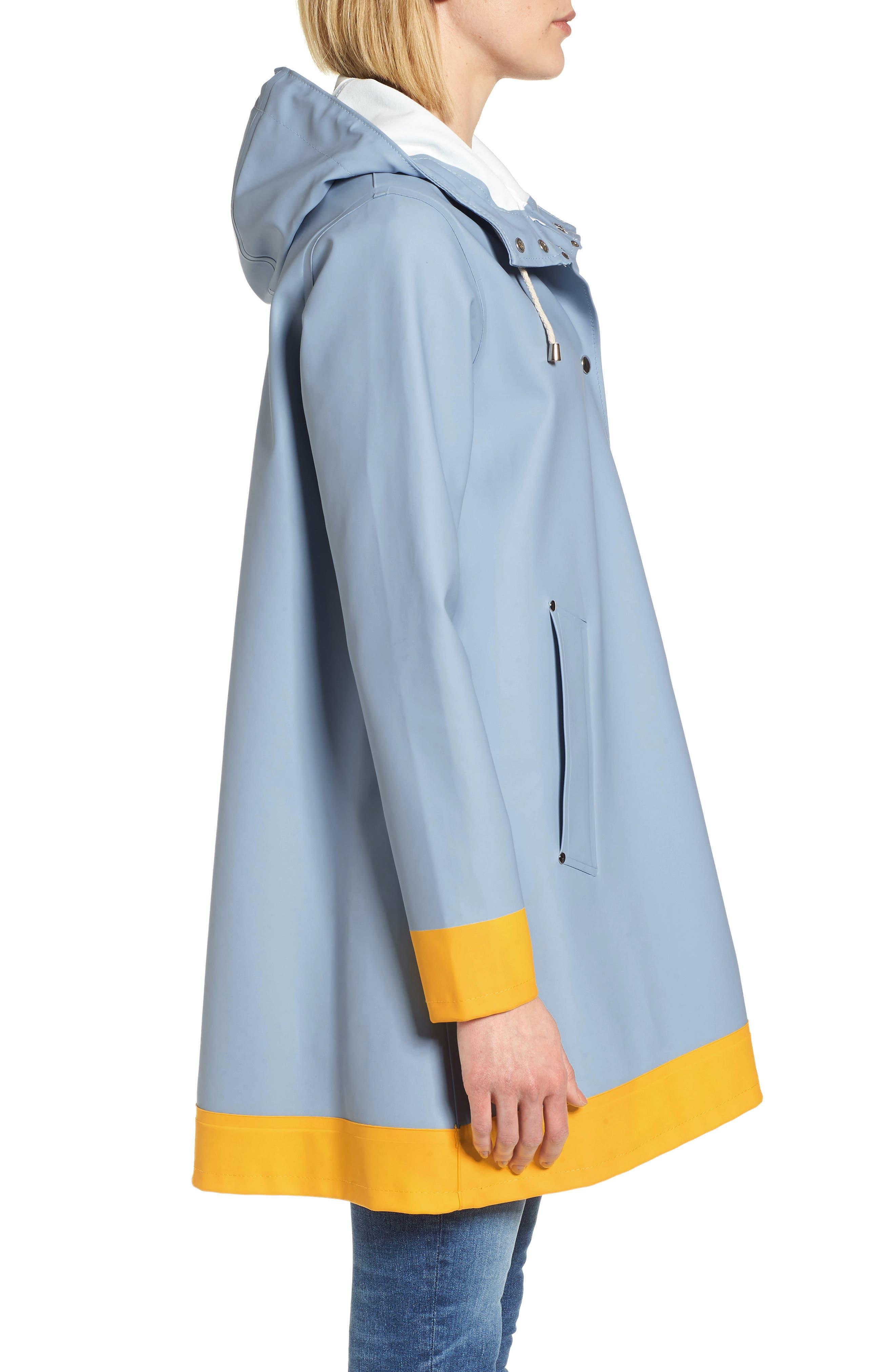 Mosebacke Frame Colorblock Raincoat,                             Alternate thumbnail 6, color,