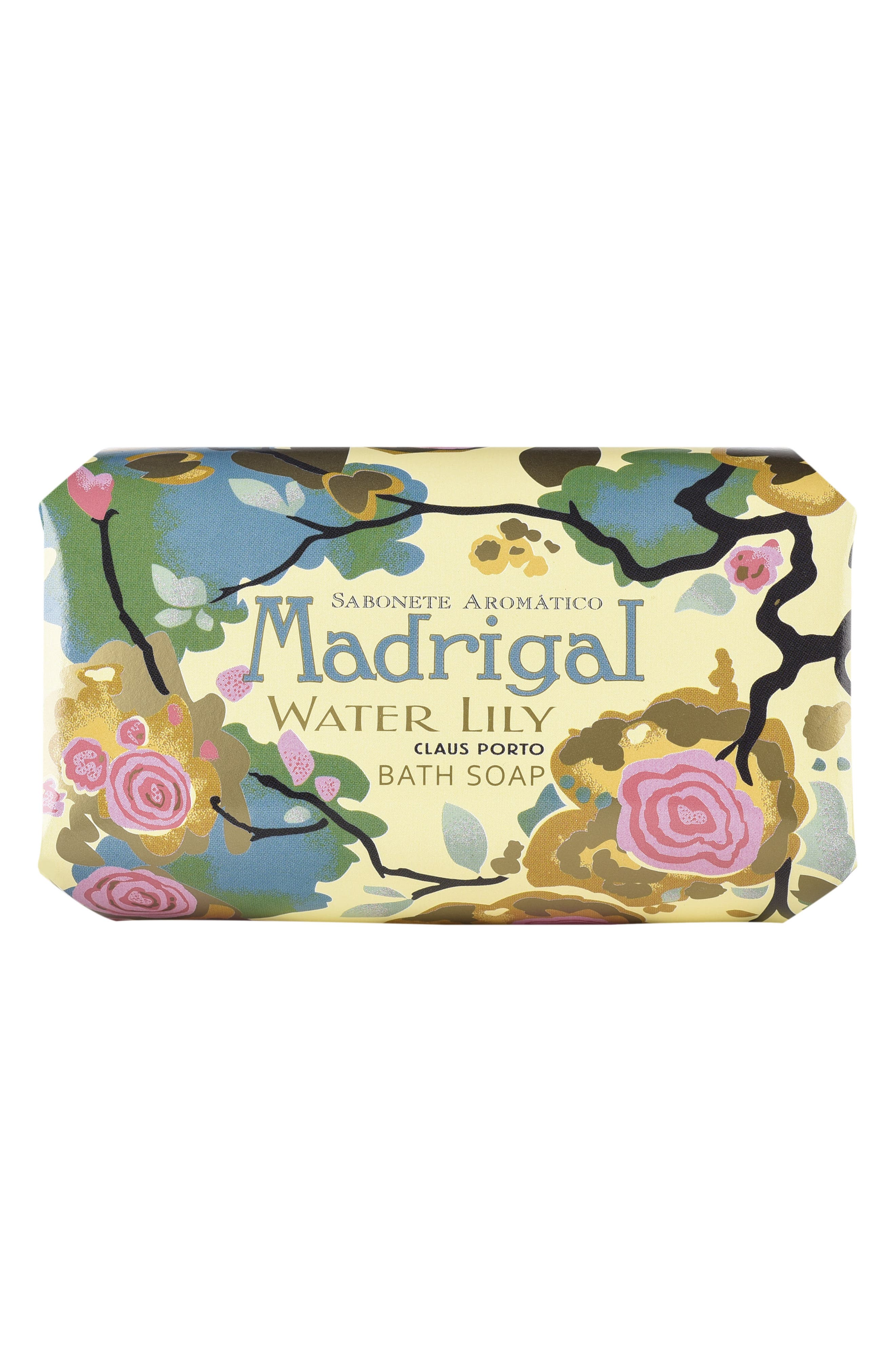 Madrigal Water Lily Large Bath Soap,                             Alternate thumbnail 2, color,                             NO COLOR