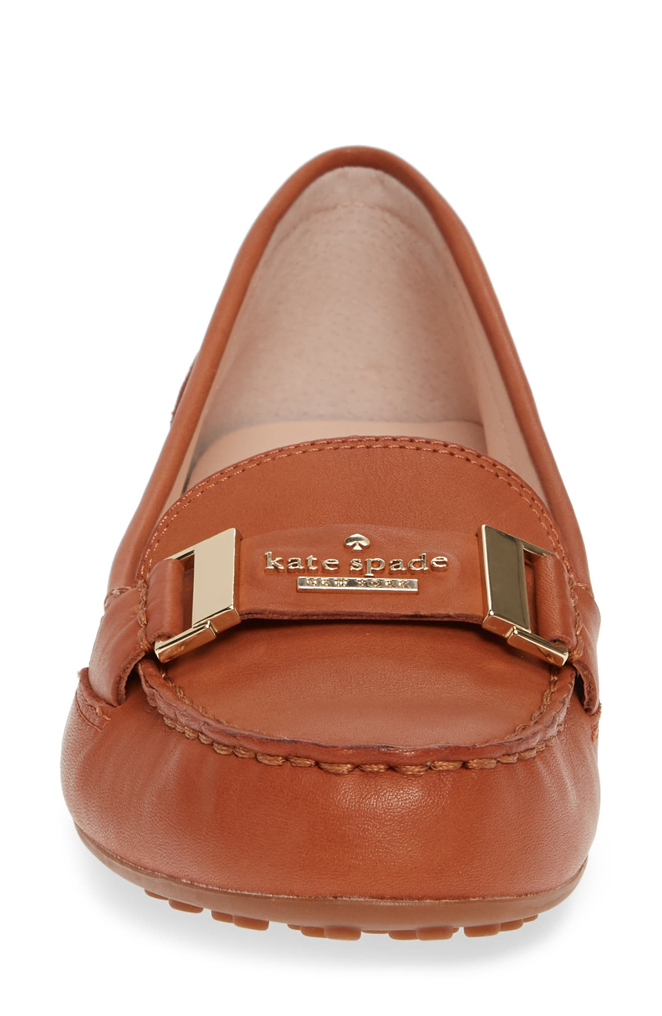 colette loafer,                             Alternate thumbnail 4, color,                             CUOIO