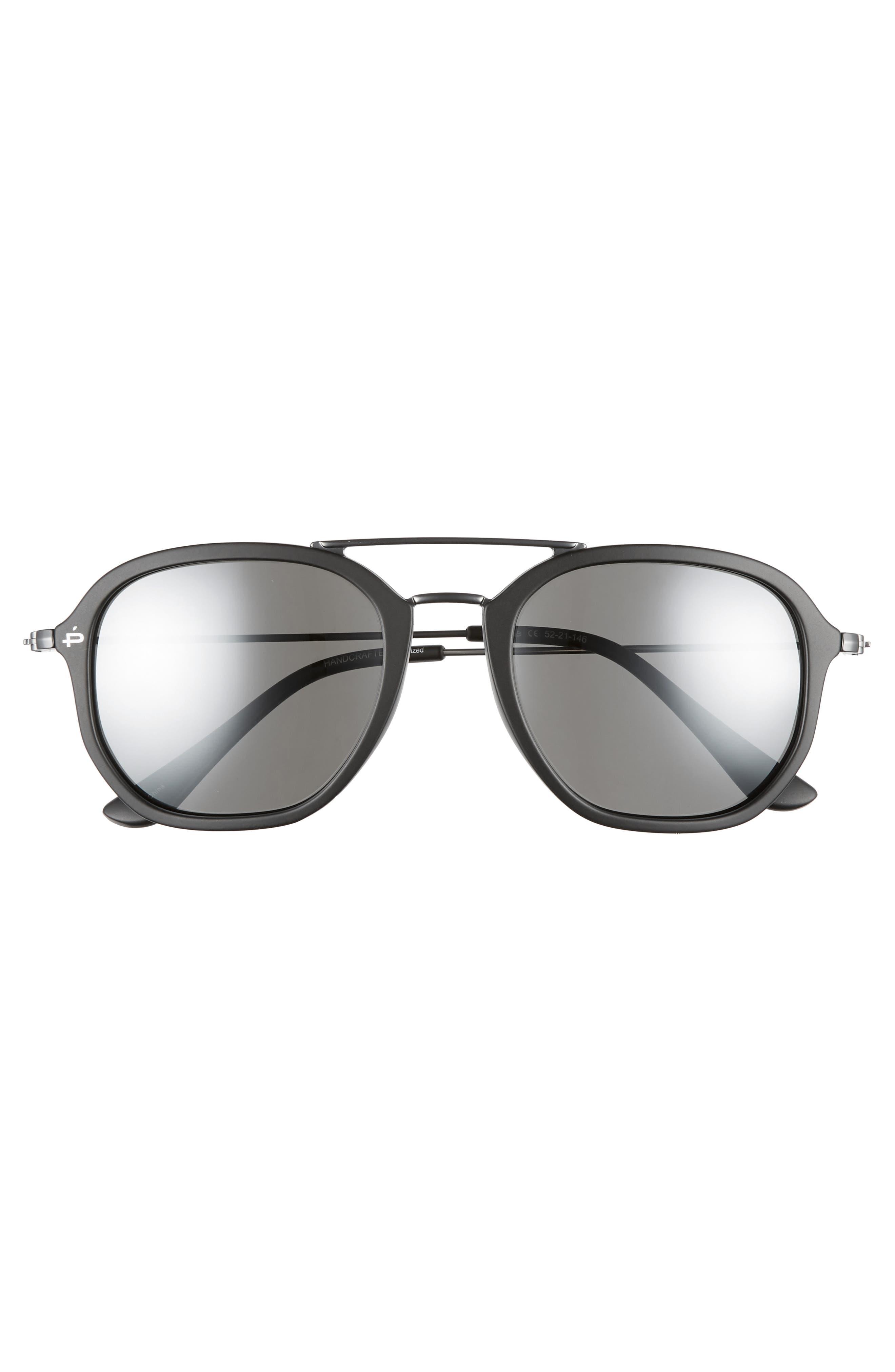 Privé Revaux The Dale Polarized 52mm Sunglasses,                             Alternate thumbnail 3, color,                             001