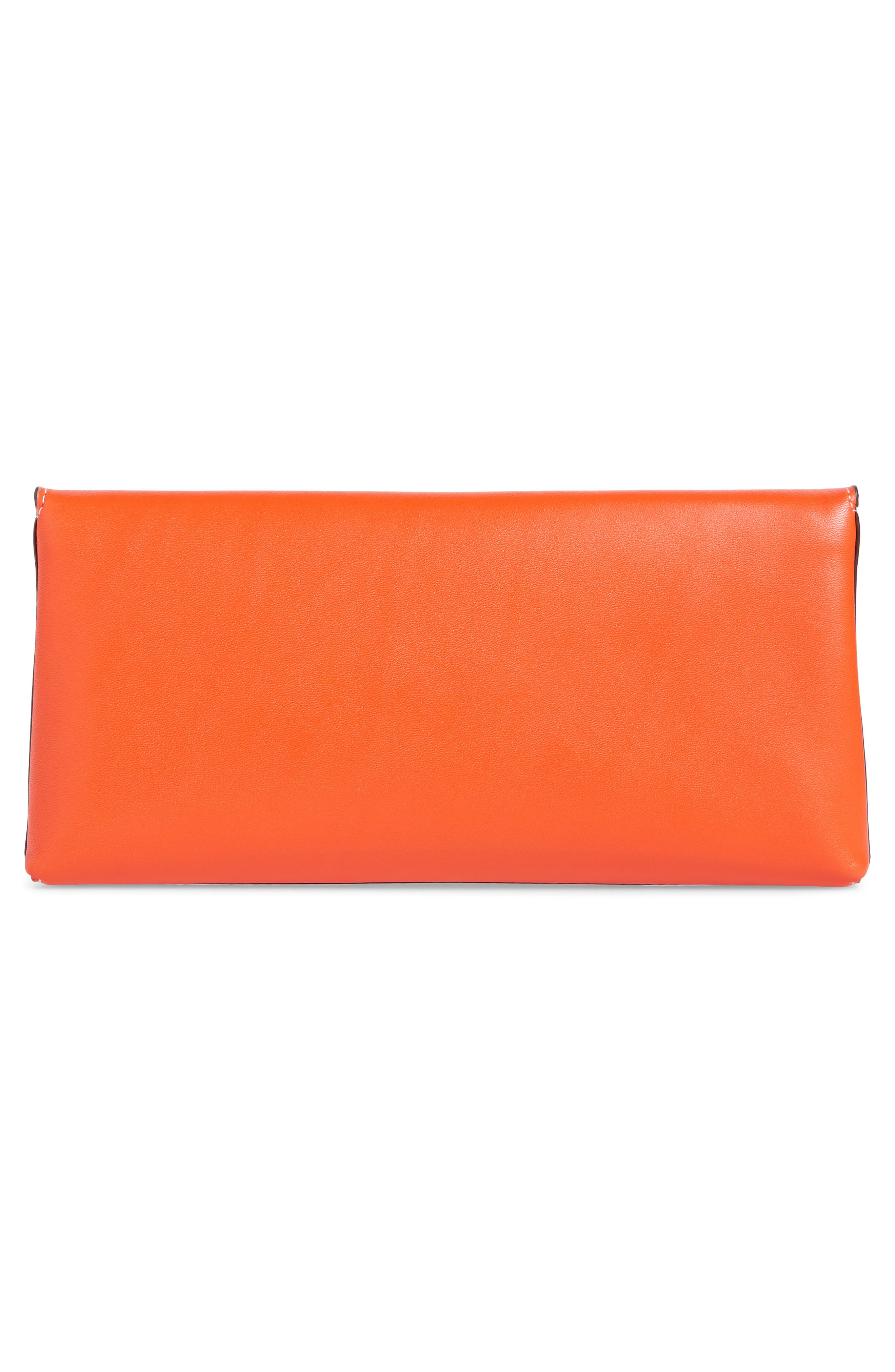Miller Leather Clutch,                             Alternate thumbnail 9, color,