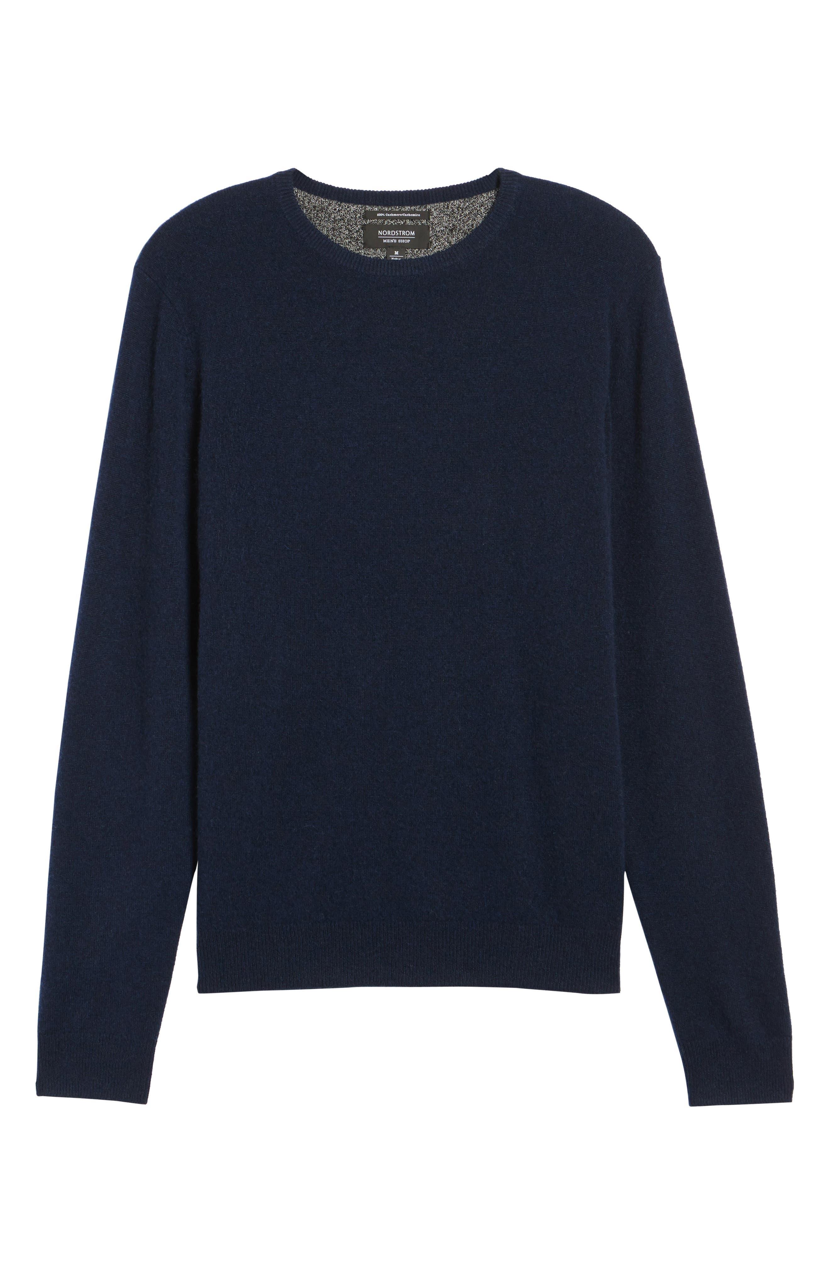 Cashmere Sweater,                             Alternate thumbnail 17, color,