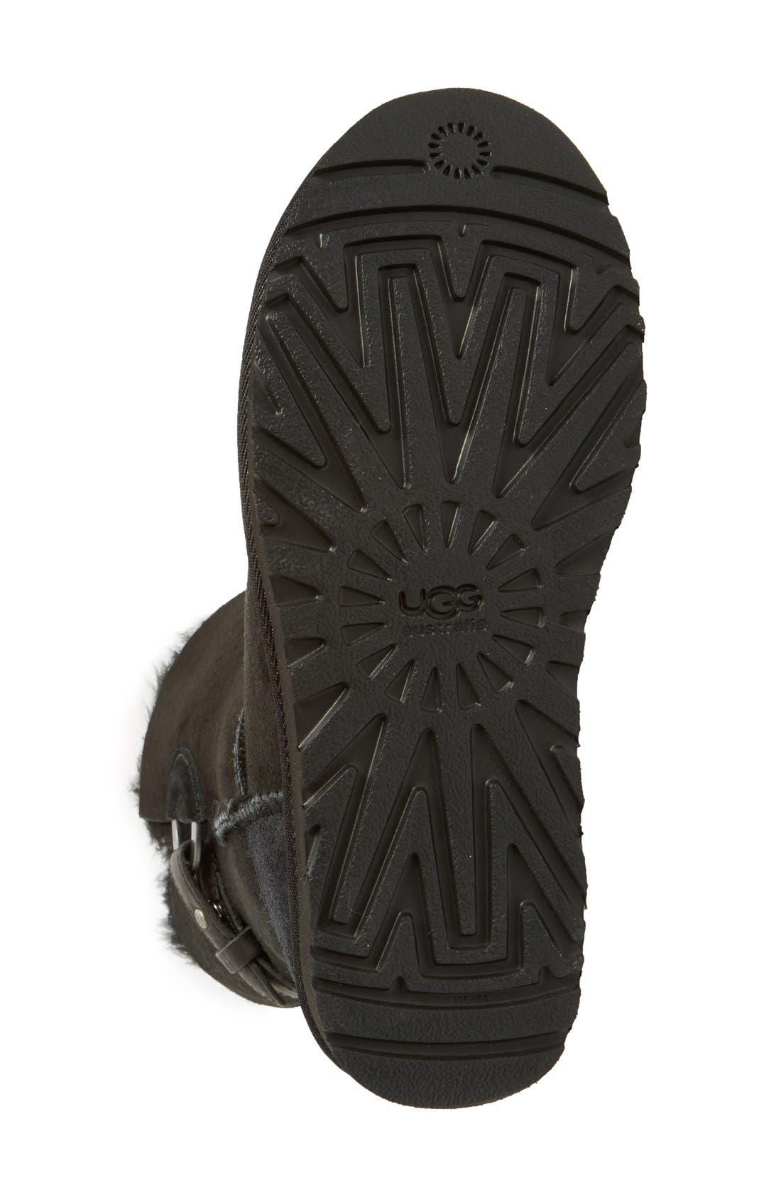 UGG<SUP>®</SUP>,                             Nash Genuine Shearling Boot,                             Alternate thumbnail 2, color,                             001