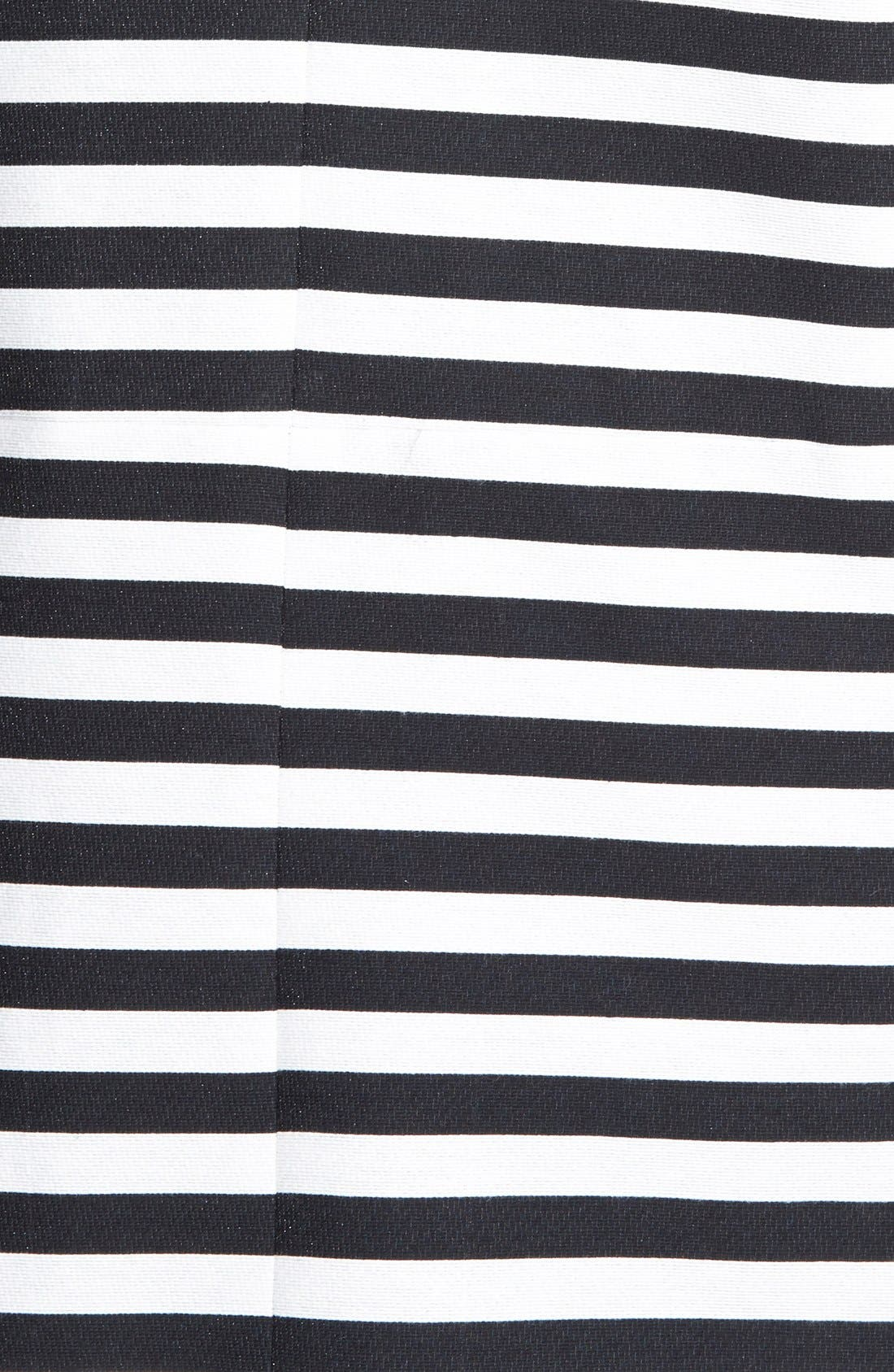 HALOGEN<SUP>®</SUP>,                             Stripe Collarless Topper,                             Alternate thumbnail 2, color,                             001