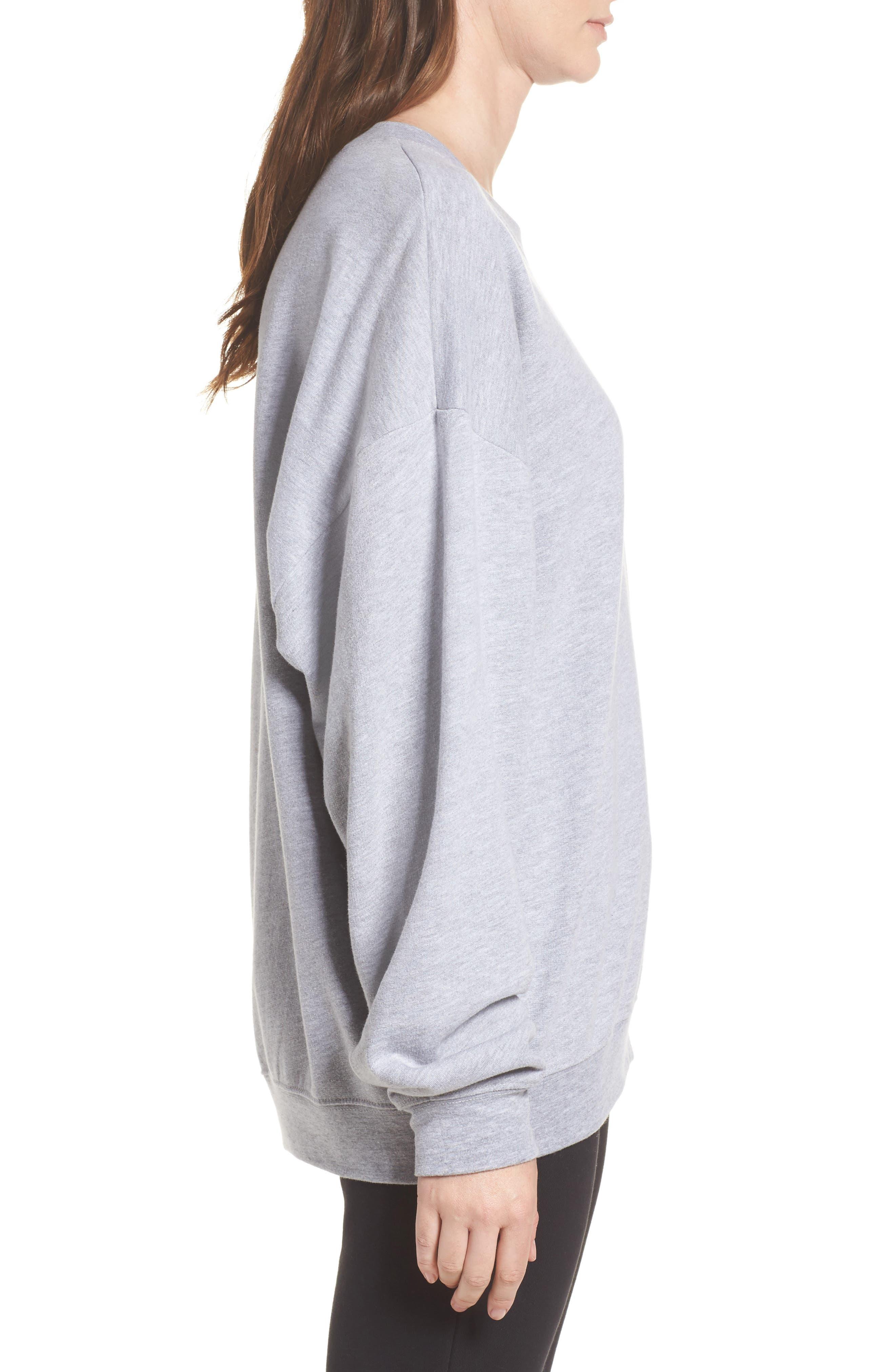 Ellstan Oversize Boyfriend Sweatshirt,                             Alternate thumbnail 3, color,                             035
