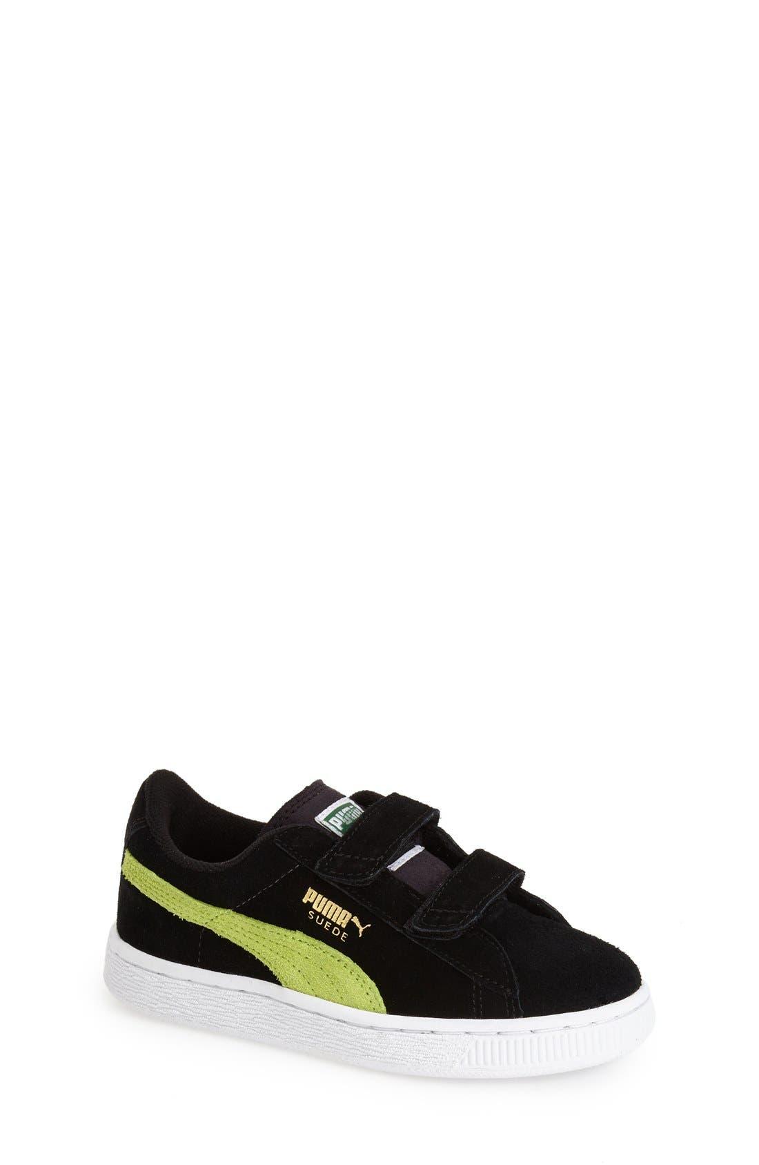 Suede Sneaker,                             Main thumbnail 2, color,