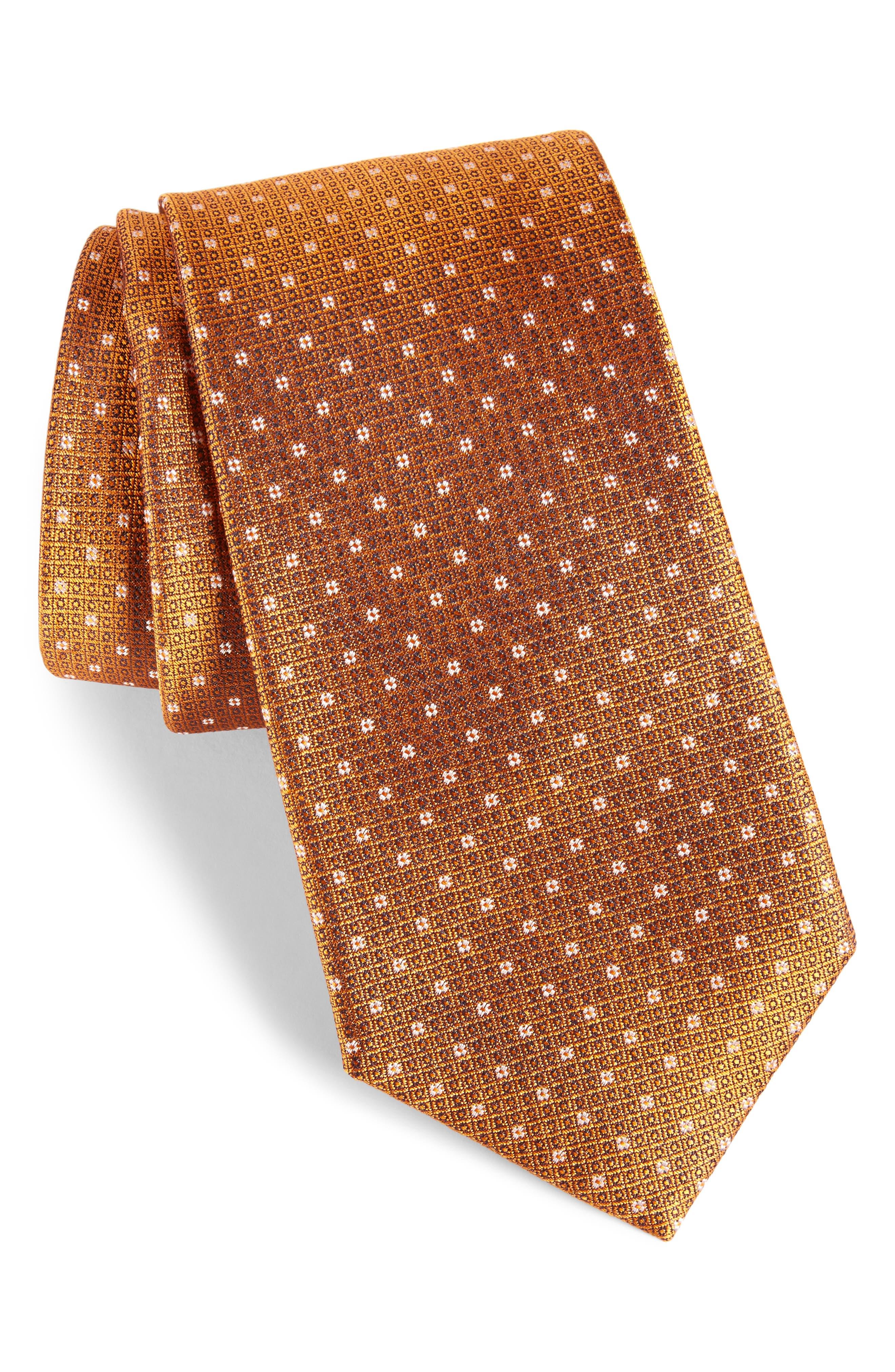 Denson Neat Silk Tie,                             Main thumbnail 8, color,