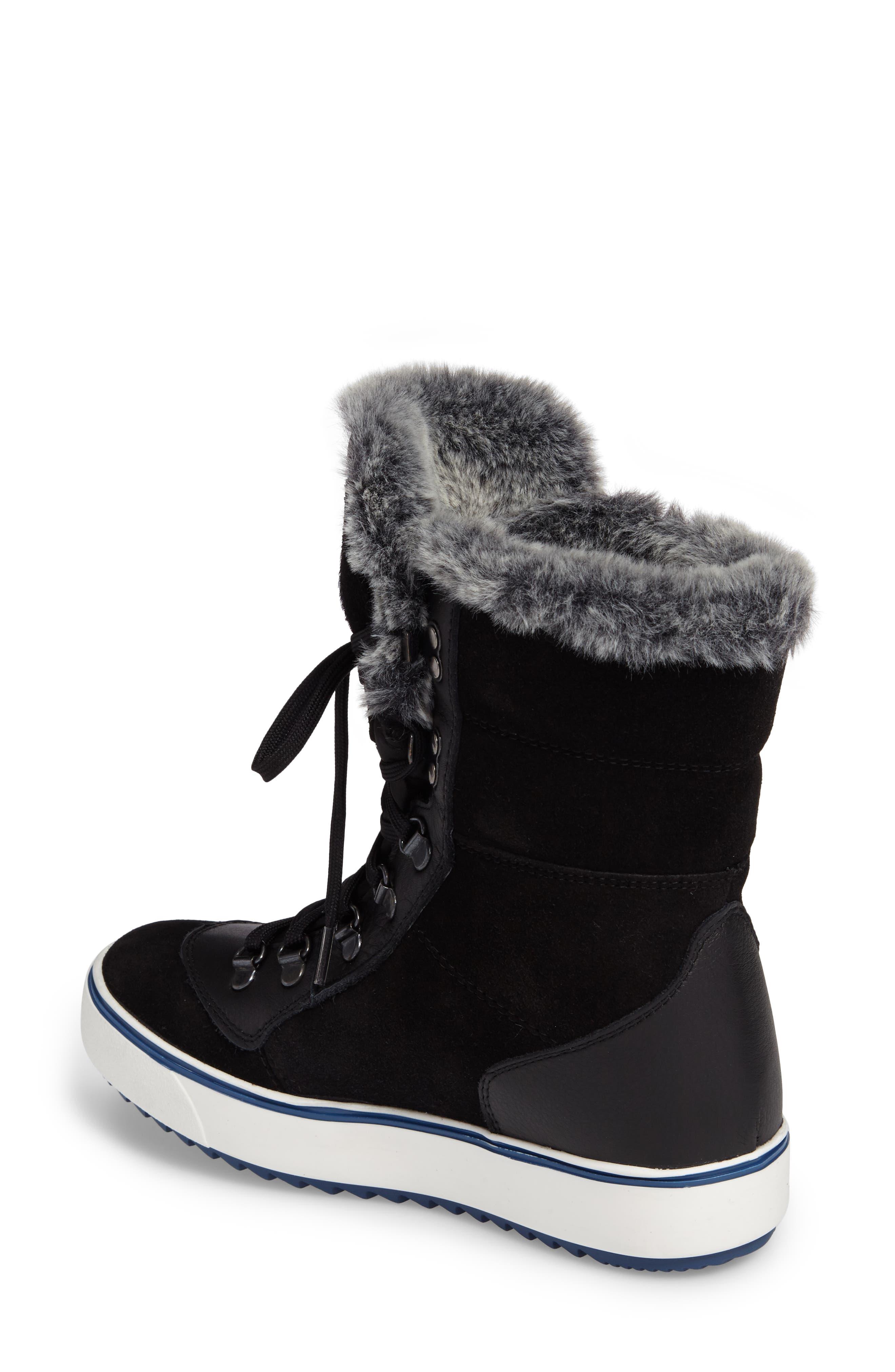 Mixx Faux Fur Waterproof Boot,                             Alternate thumbnail 5, color,