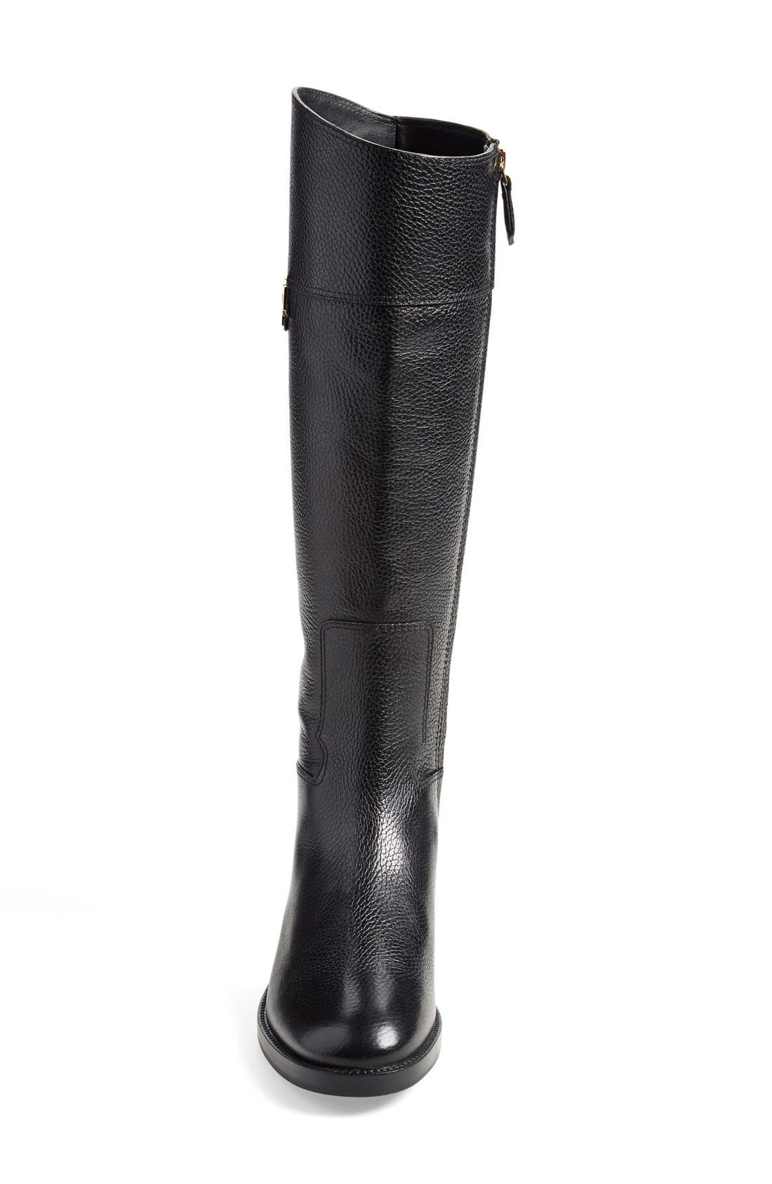 'Joanna' Riding Boot,                             Alternate thumbnail 2, color,                             001