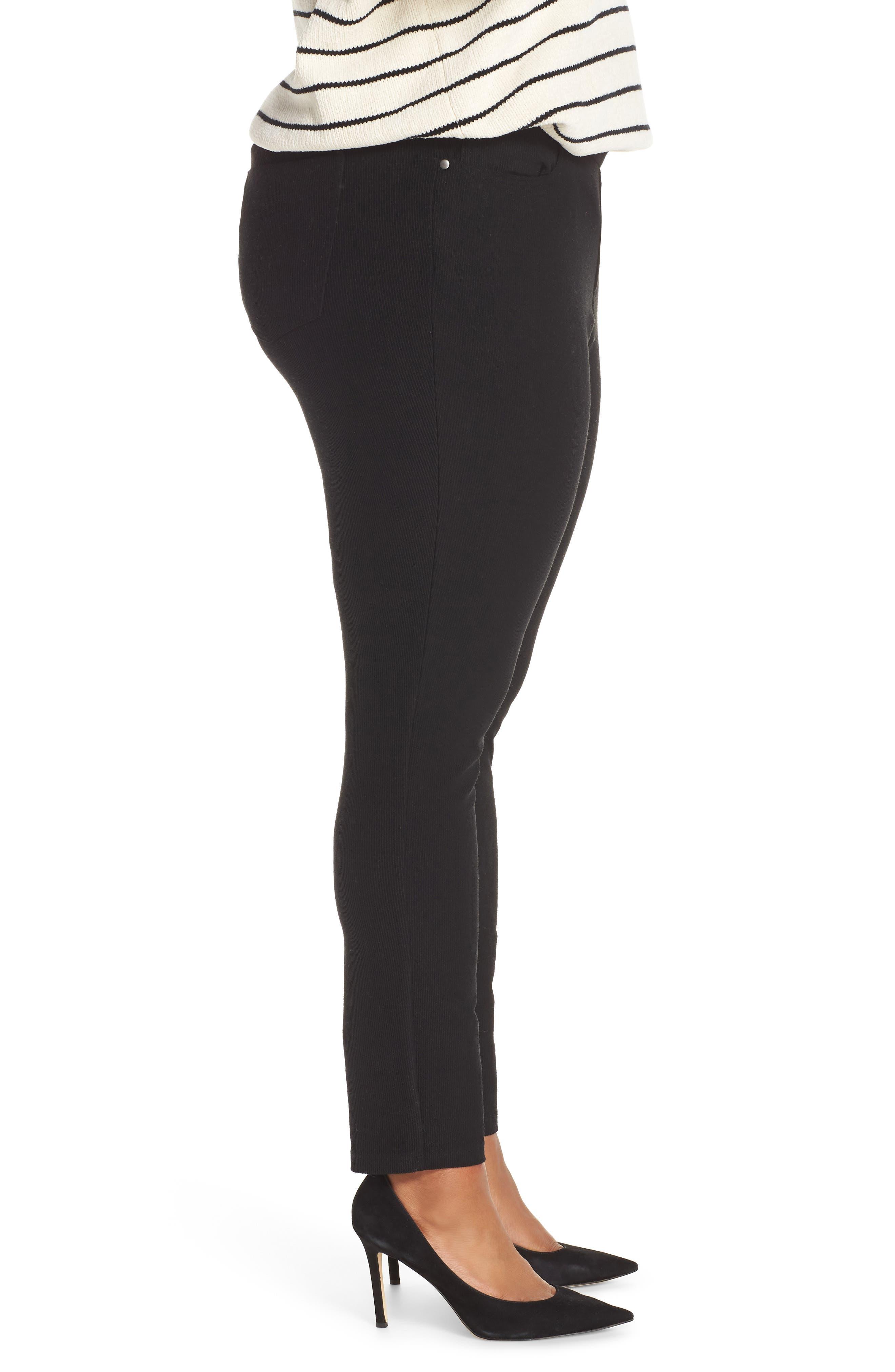 5-Pocket Skinny Pants,                             Alternate thumbnail 4, color,                             BLACK
