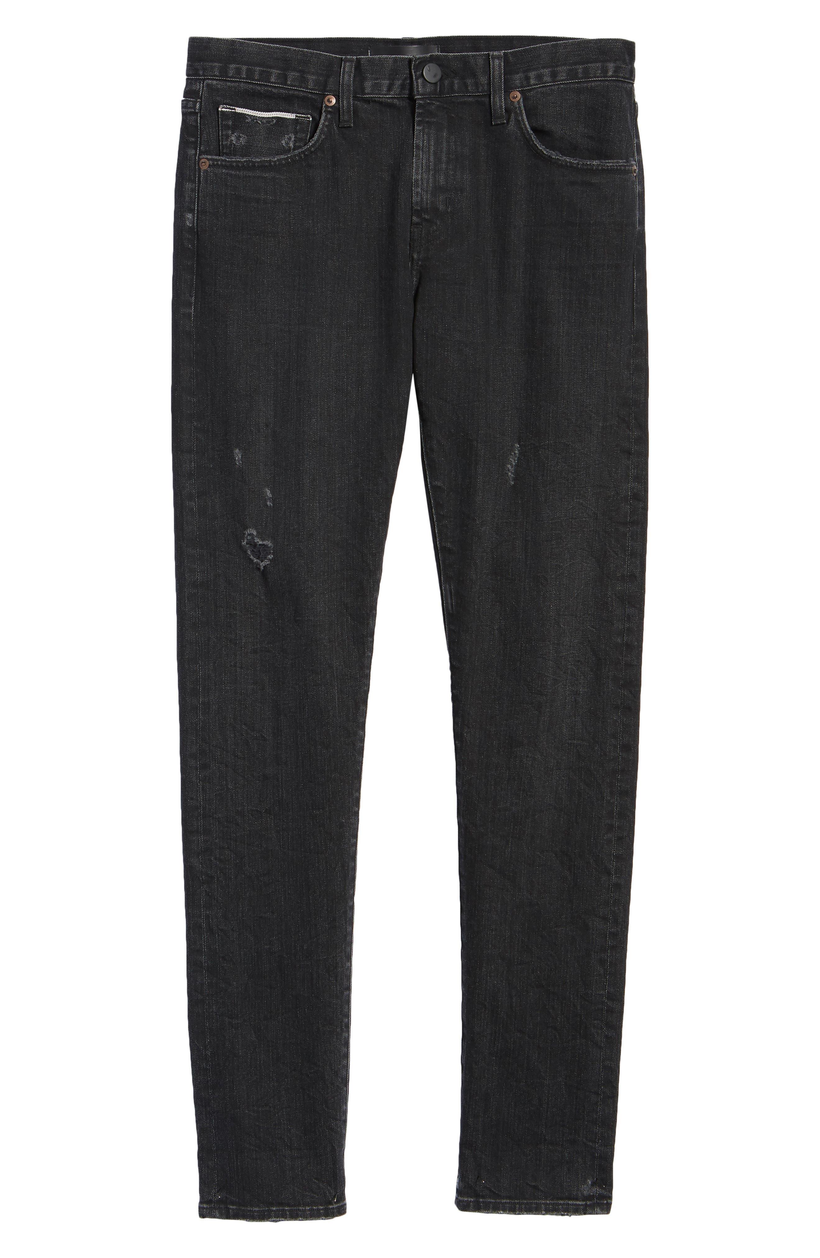 Tyler Slim Fit Jeans,                             Alternate thumbnail 6, color,                             009