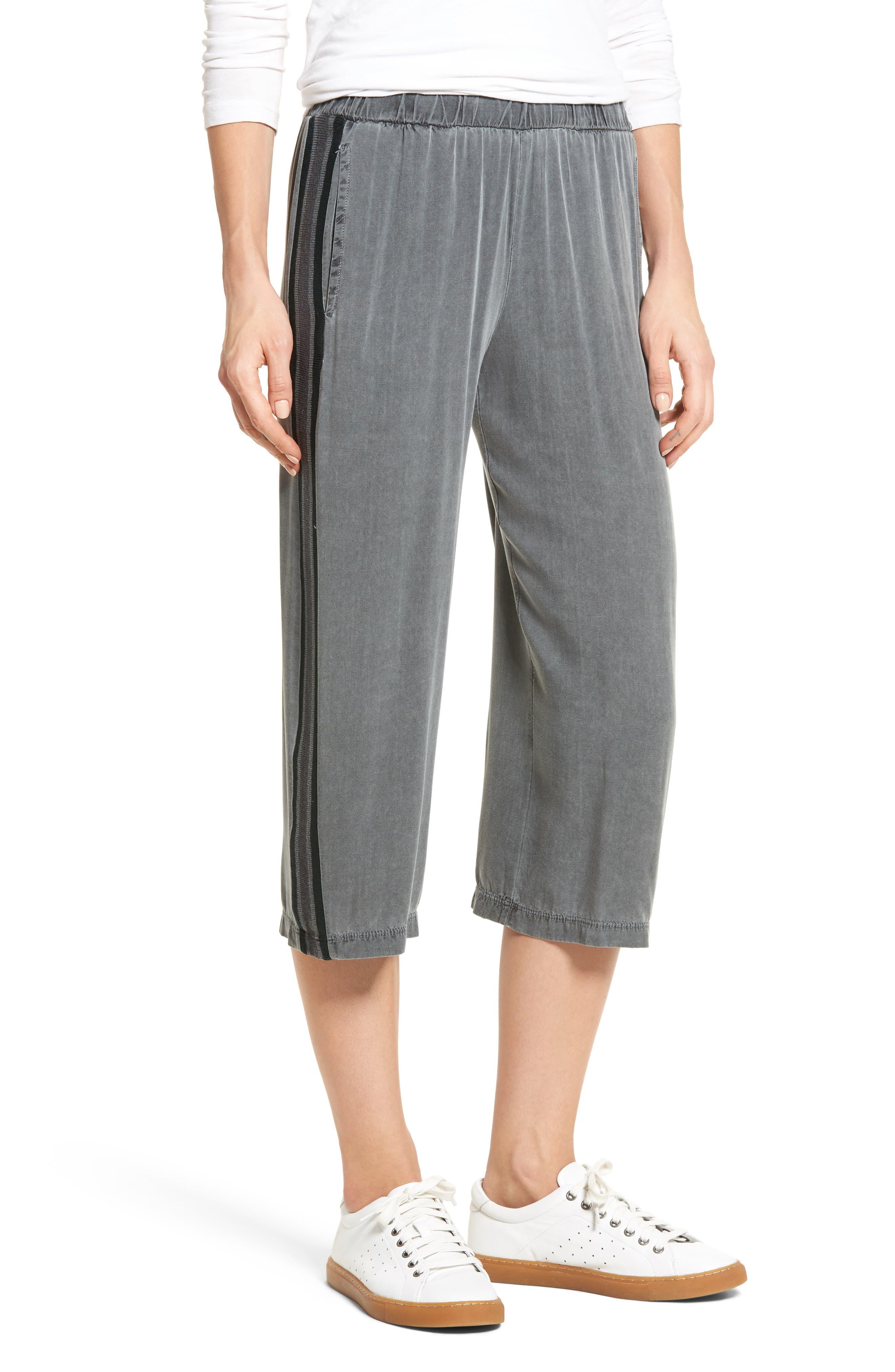 Stripe Crop Pants,                             Main thumbnail 1, color,                             020