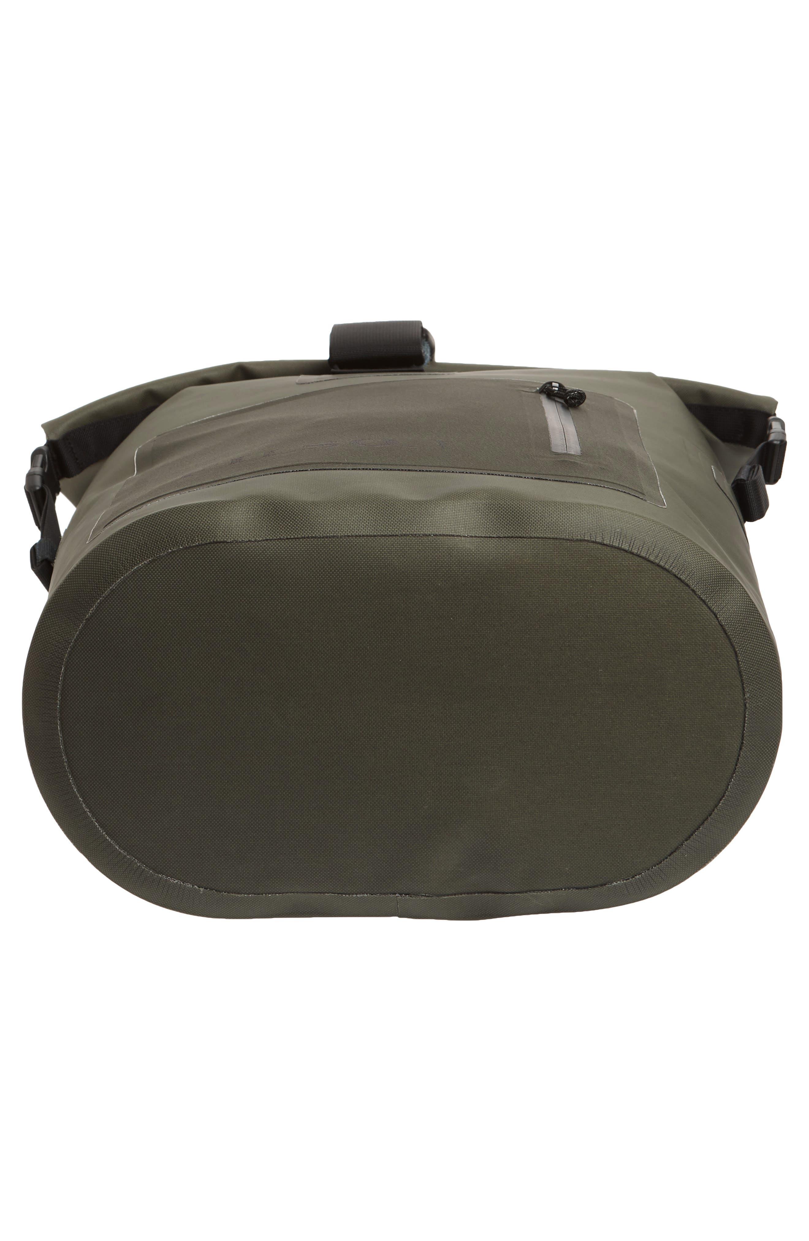 Dry Waterproof Backpack,                             Alternate thumbnail 6, color,                             GREEN