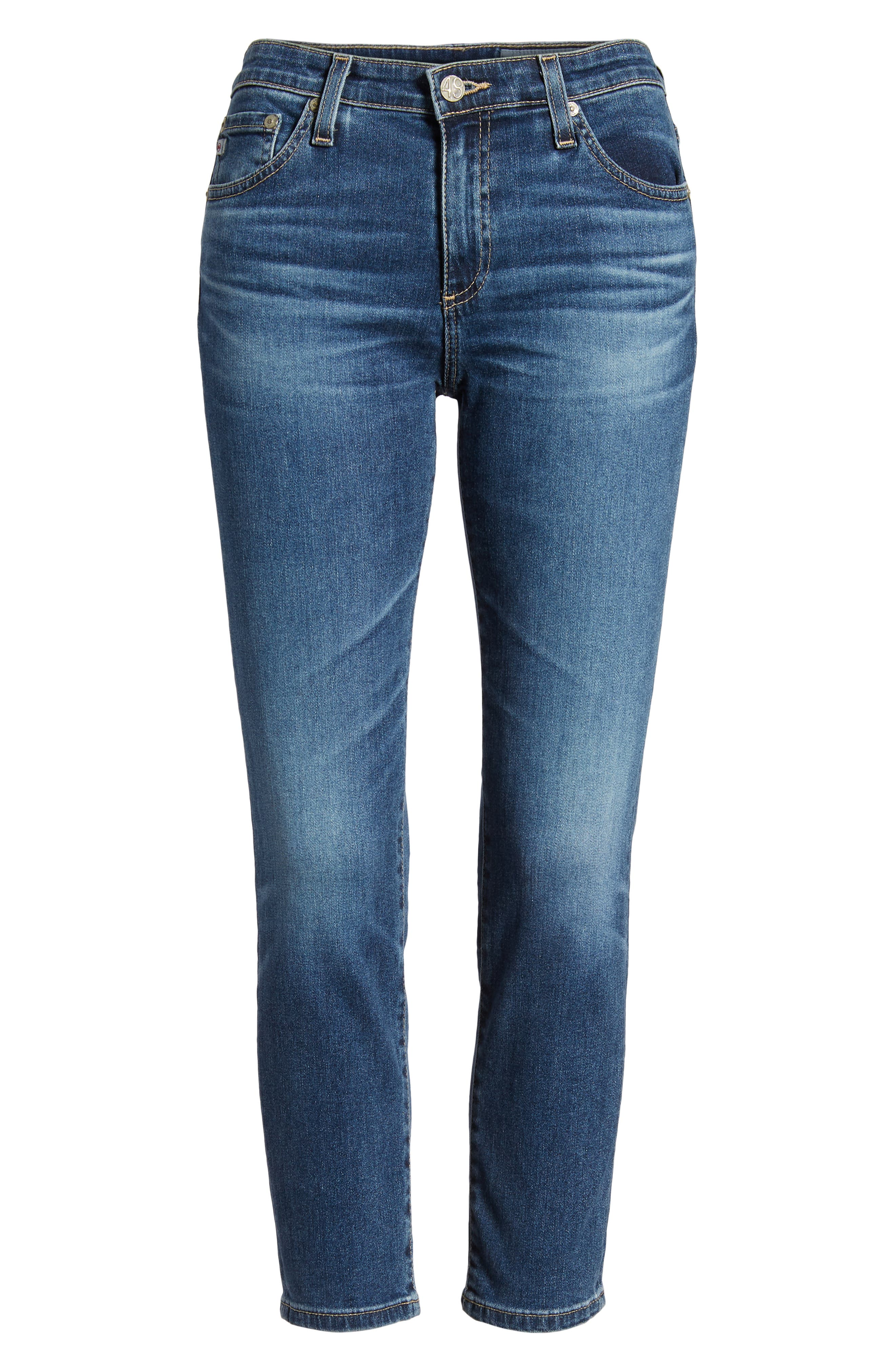 Prima Crop Cigarette Jeans,                             Alternate thumbnail 17, color,