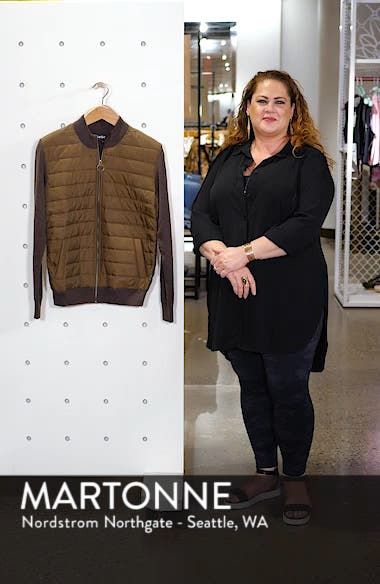 Carn Baffle Front Knit Jacket, sales video thumbnail