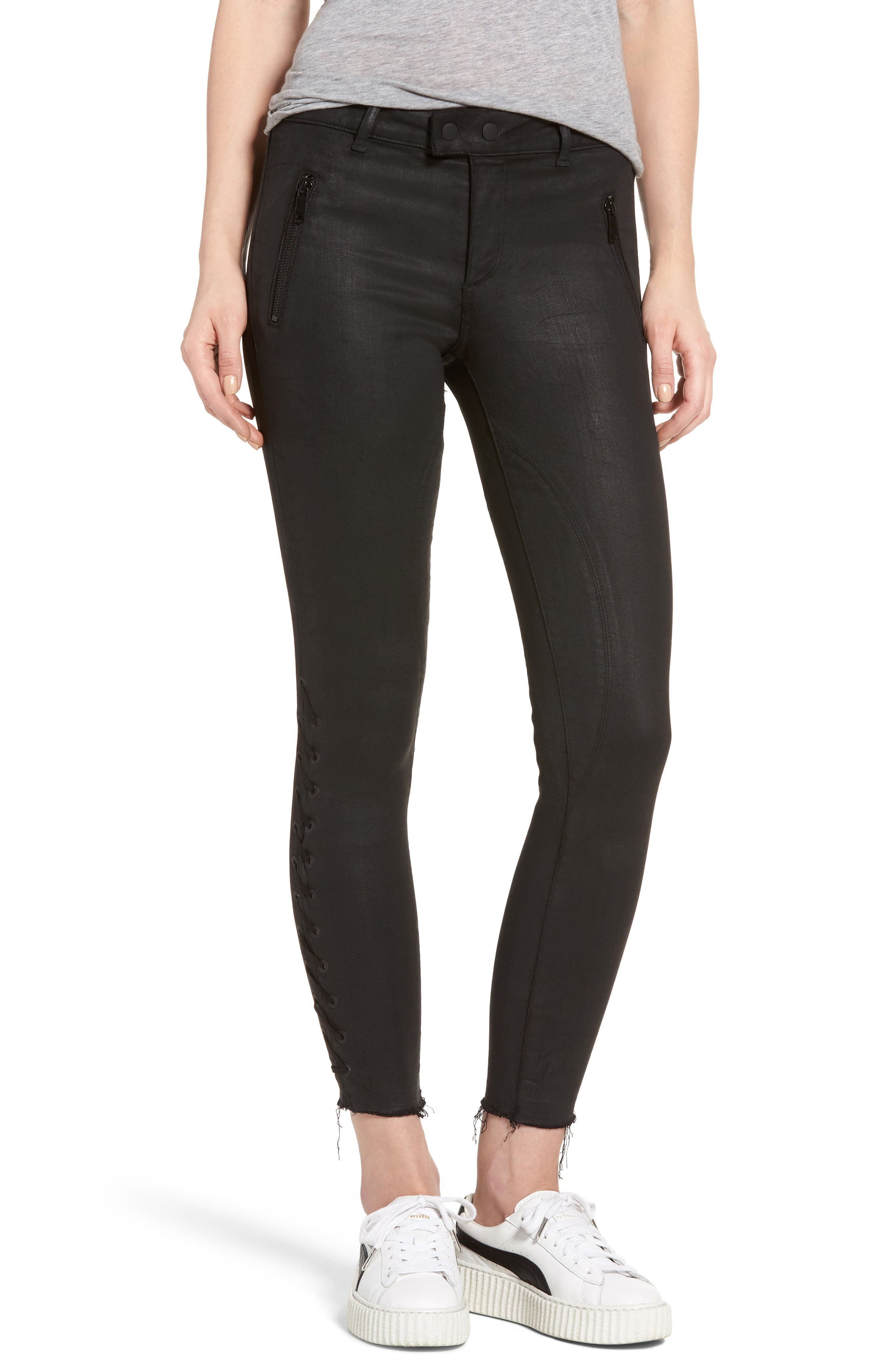 Florence Instasculpt Ankle Skinny Jeans,                         Main,                         color, 001