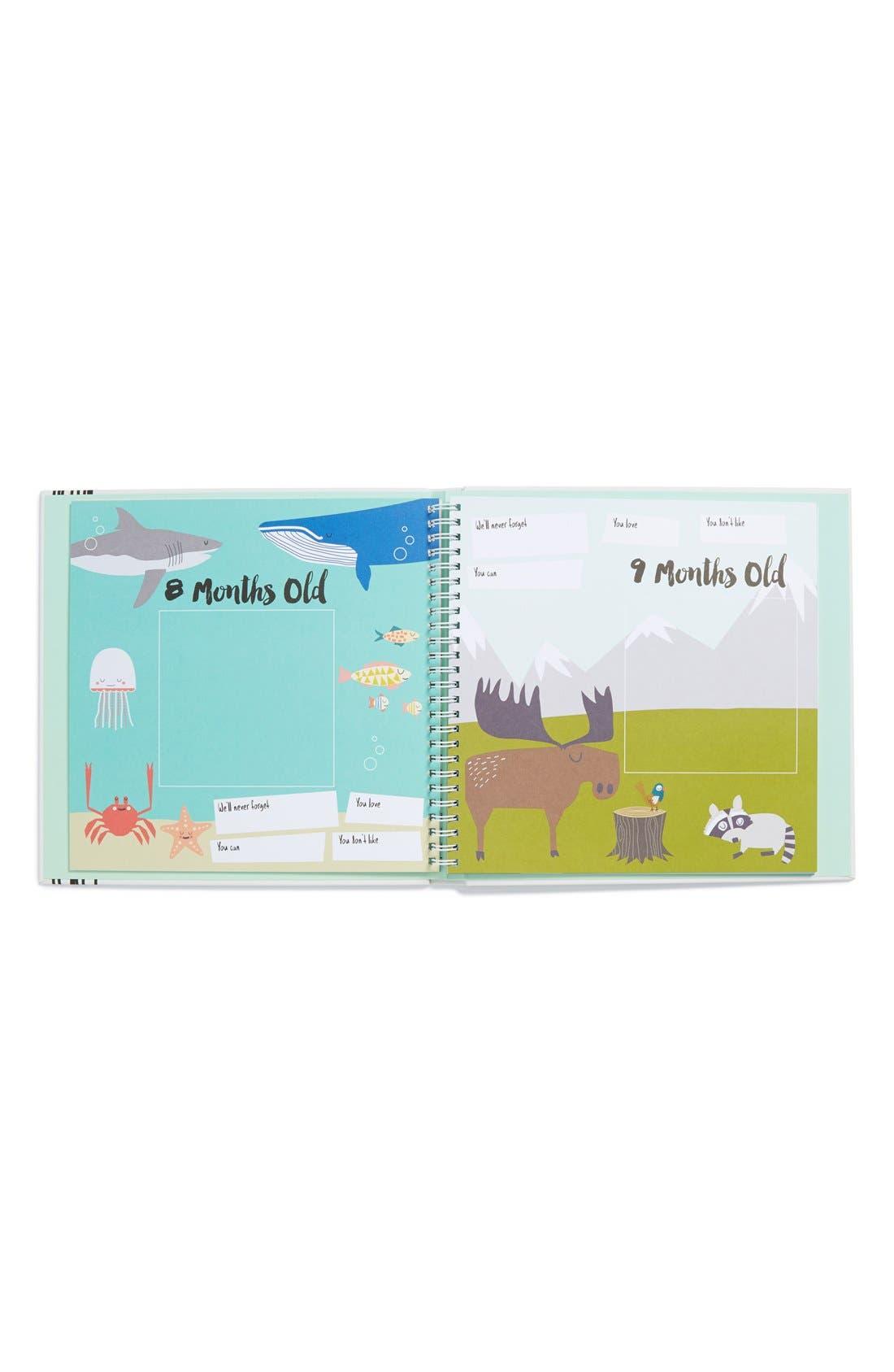 'Baby's First Year' Memory Book,                             Alternate thumbnail 3, color,                             GREY