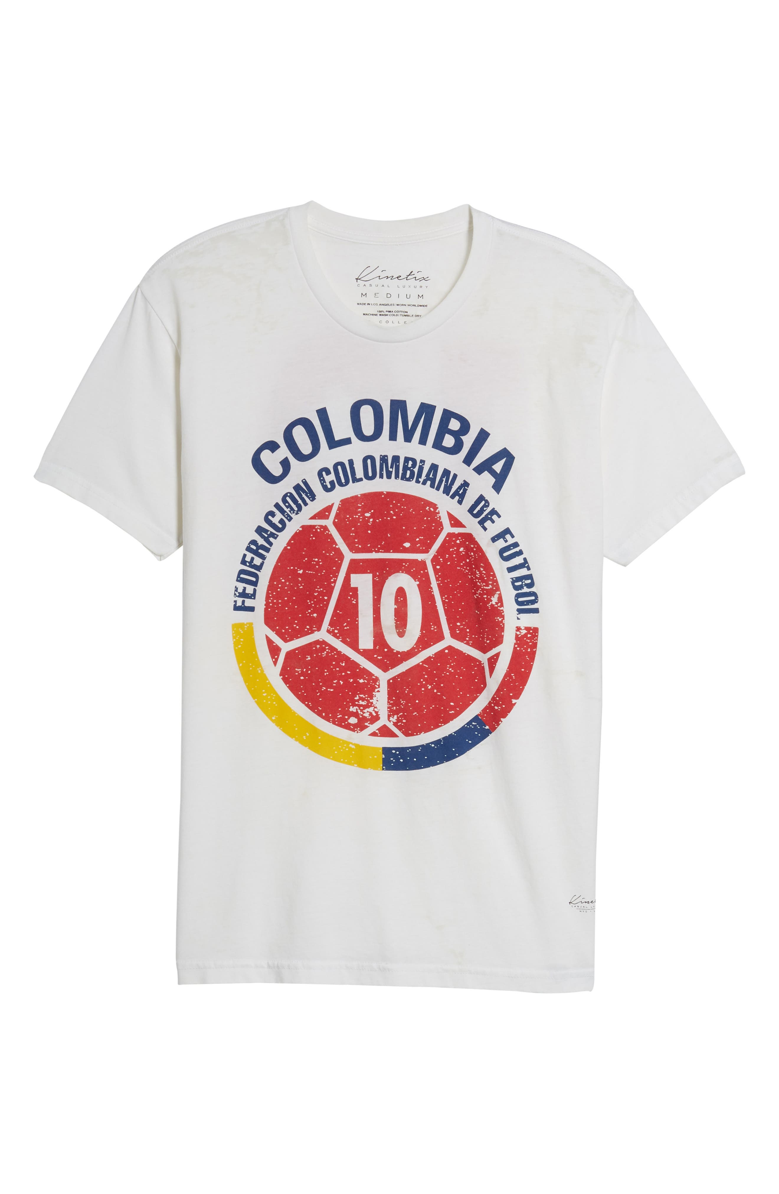Colombia Jersey T-Shirt,                             Alternate thumbnail 6, color,                             100