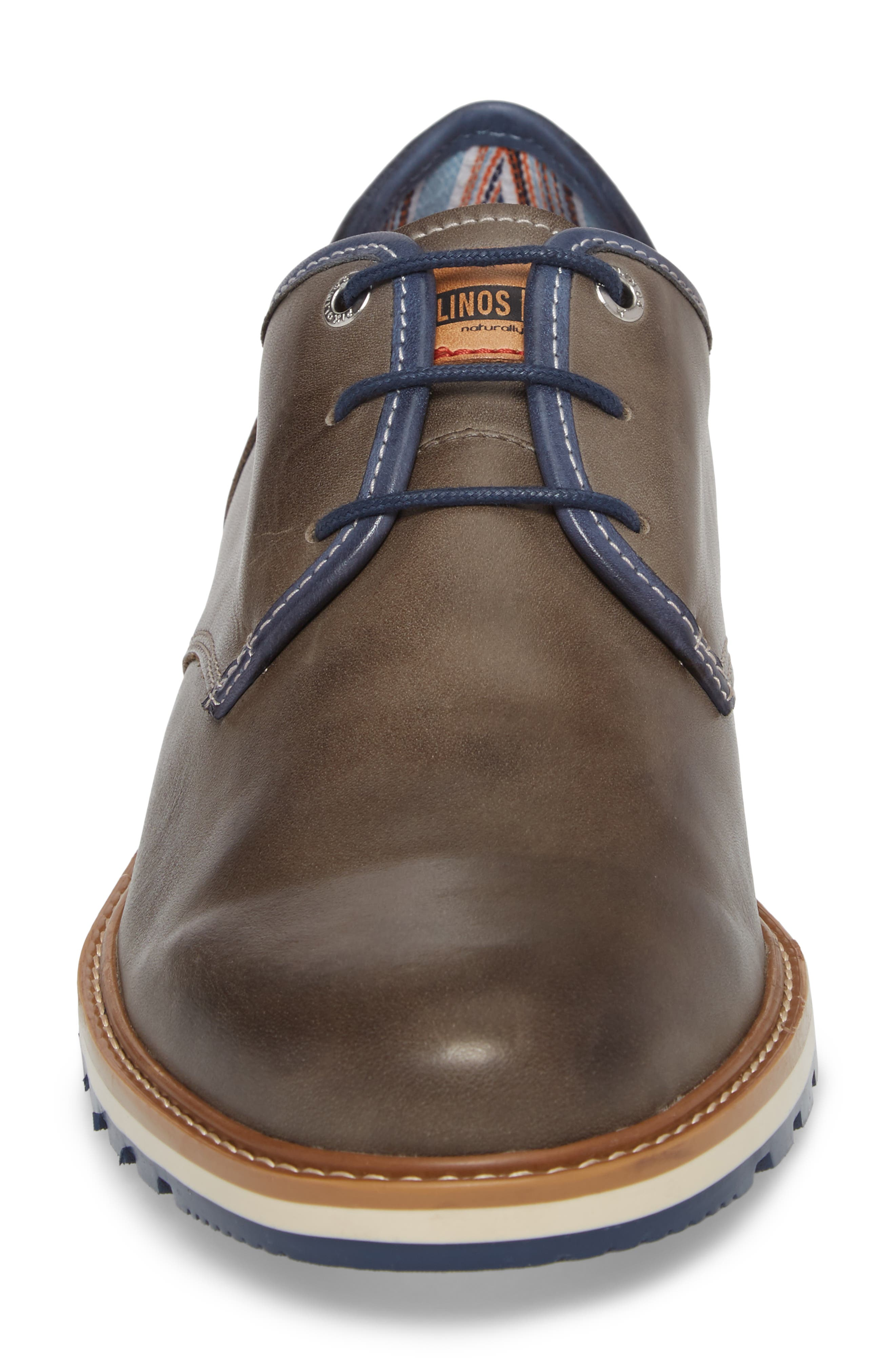 Berna Plain Toe Oxford,                             Alternate thumbnail 4, color,                             020