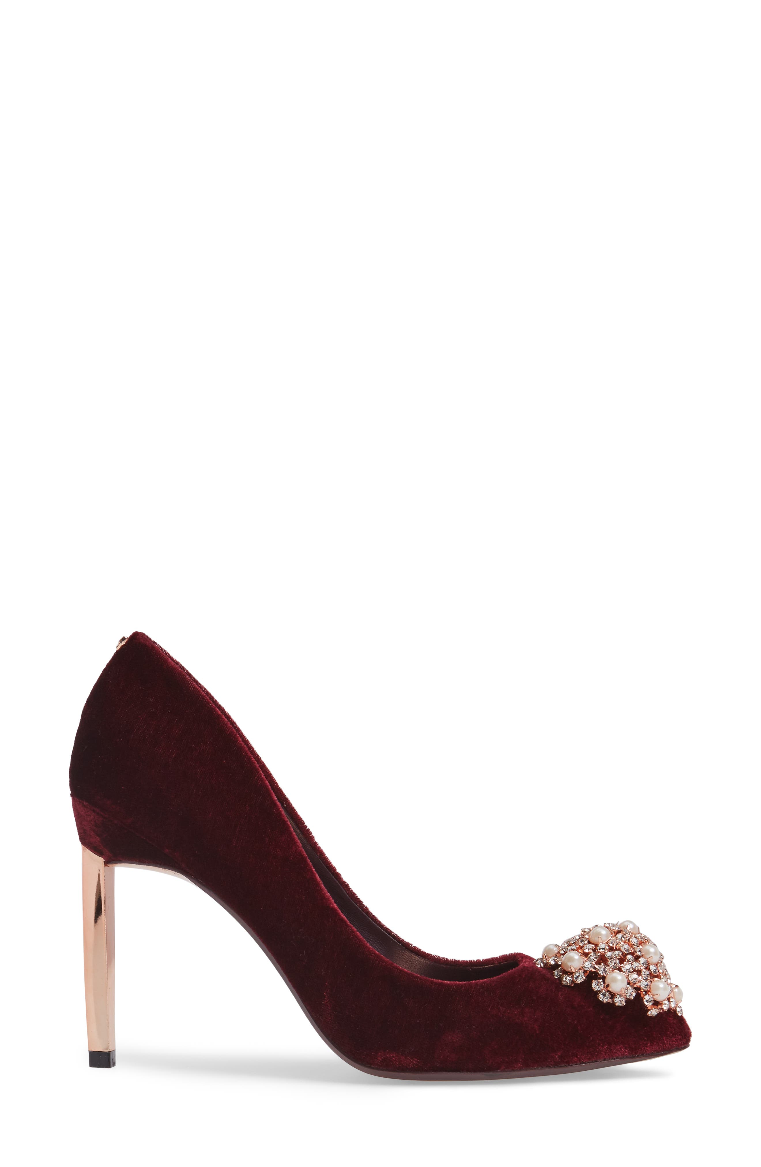 'Peetch' Pointy Toe Pump,                             Alternate thumbnail 42, color,
