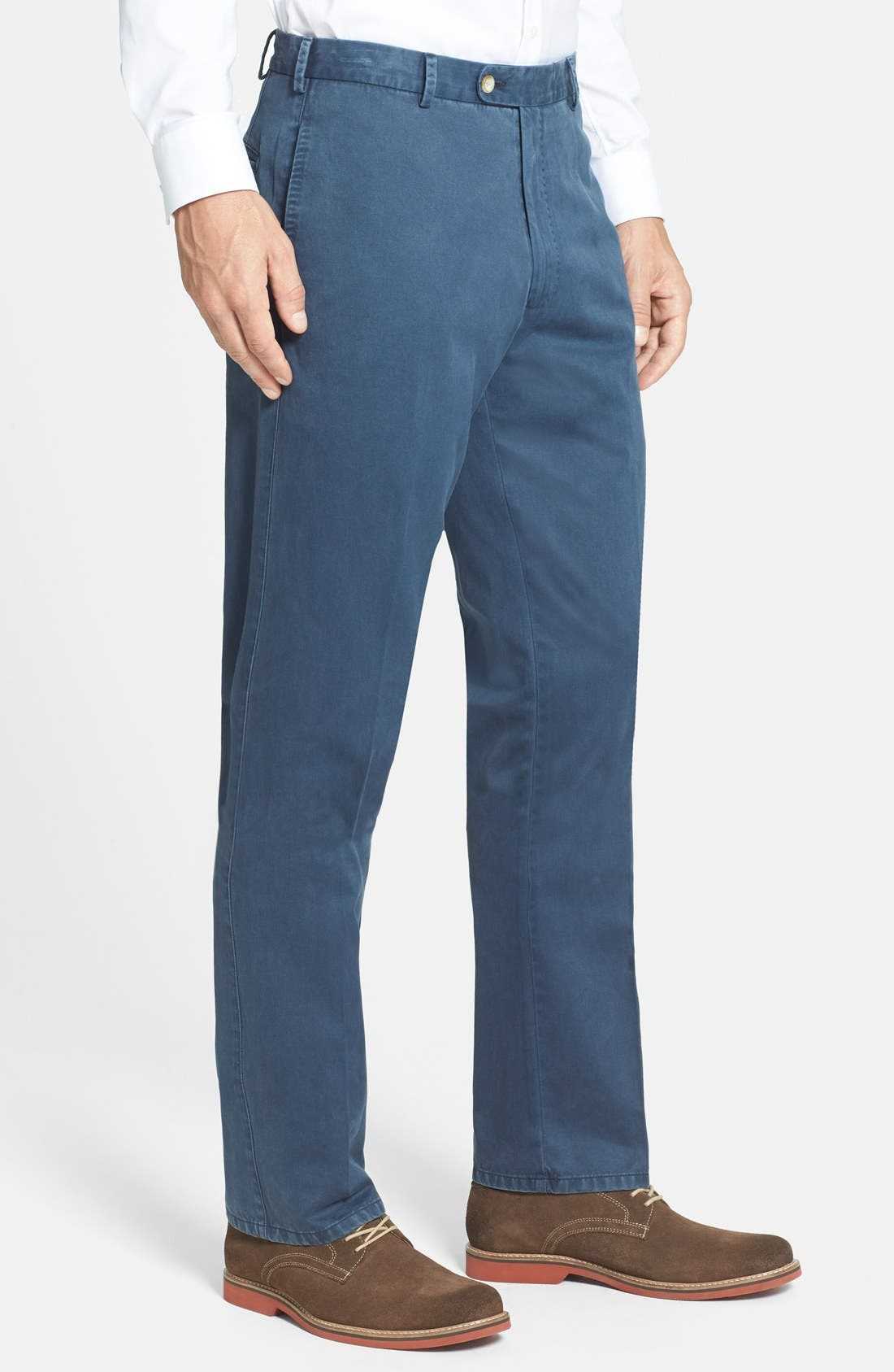 Garment Washed Twill Pants,                             Alternate thumbnail 70, color,