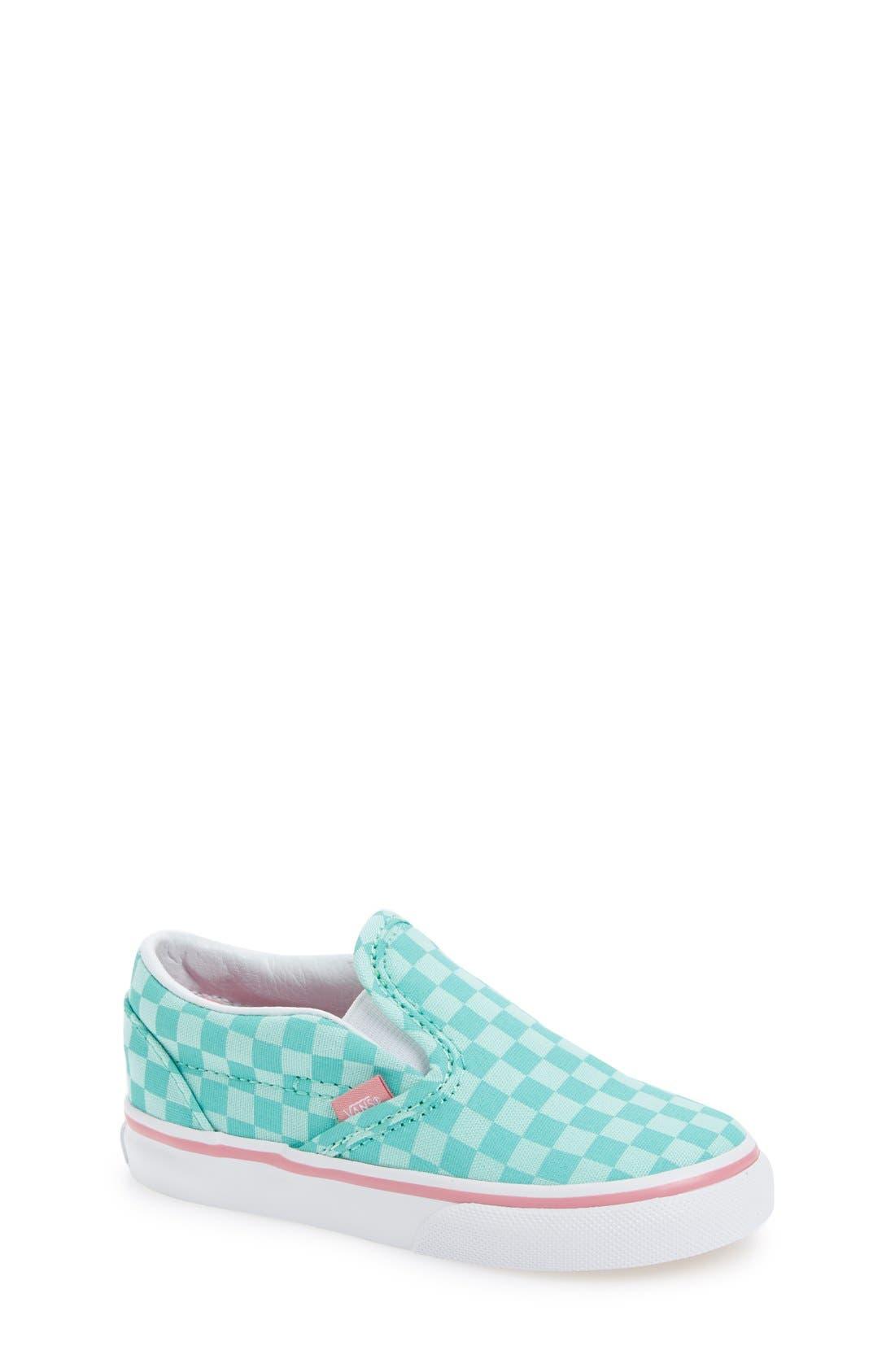 VANS,                             Classic Slip-On Sneaker,                             Main thumbnail 1, color,                             300