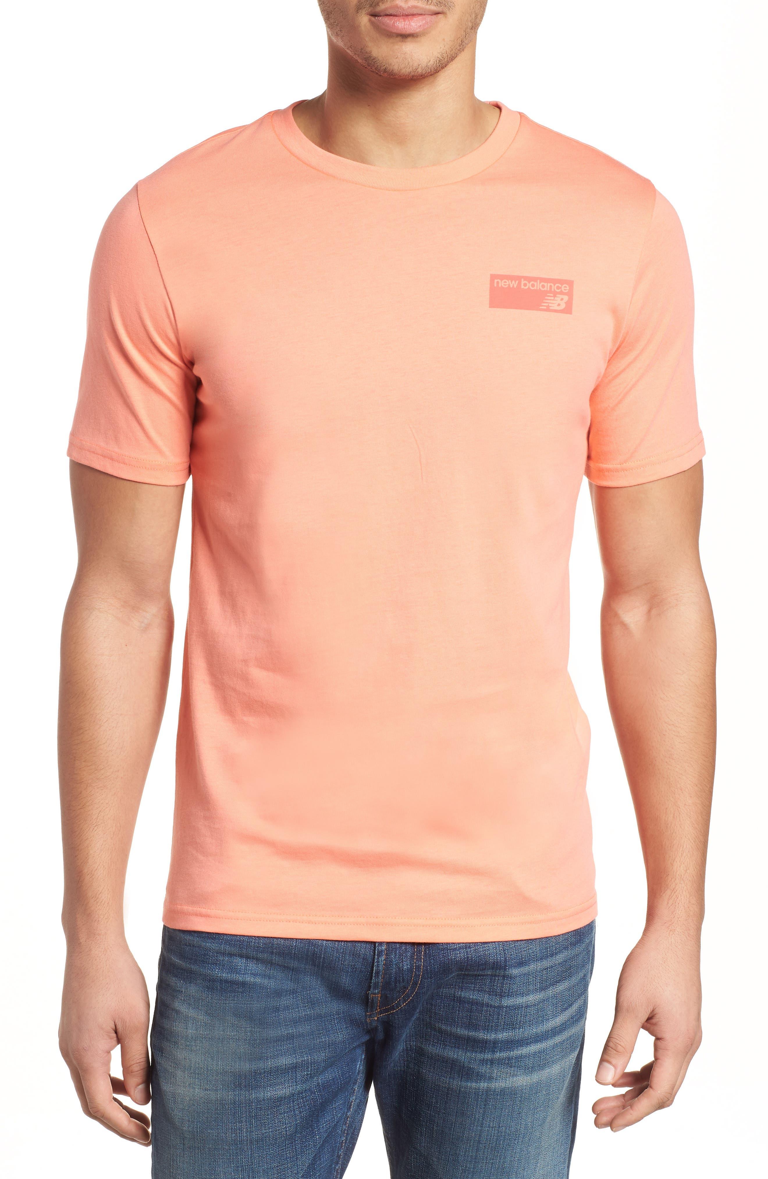 Athletics Classic Crewneck T-Shirt,                             Main thumbnail 1, color,                             FIJI