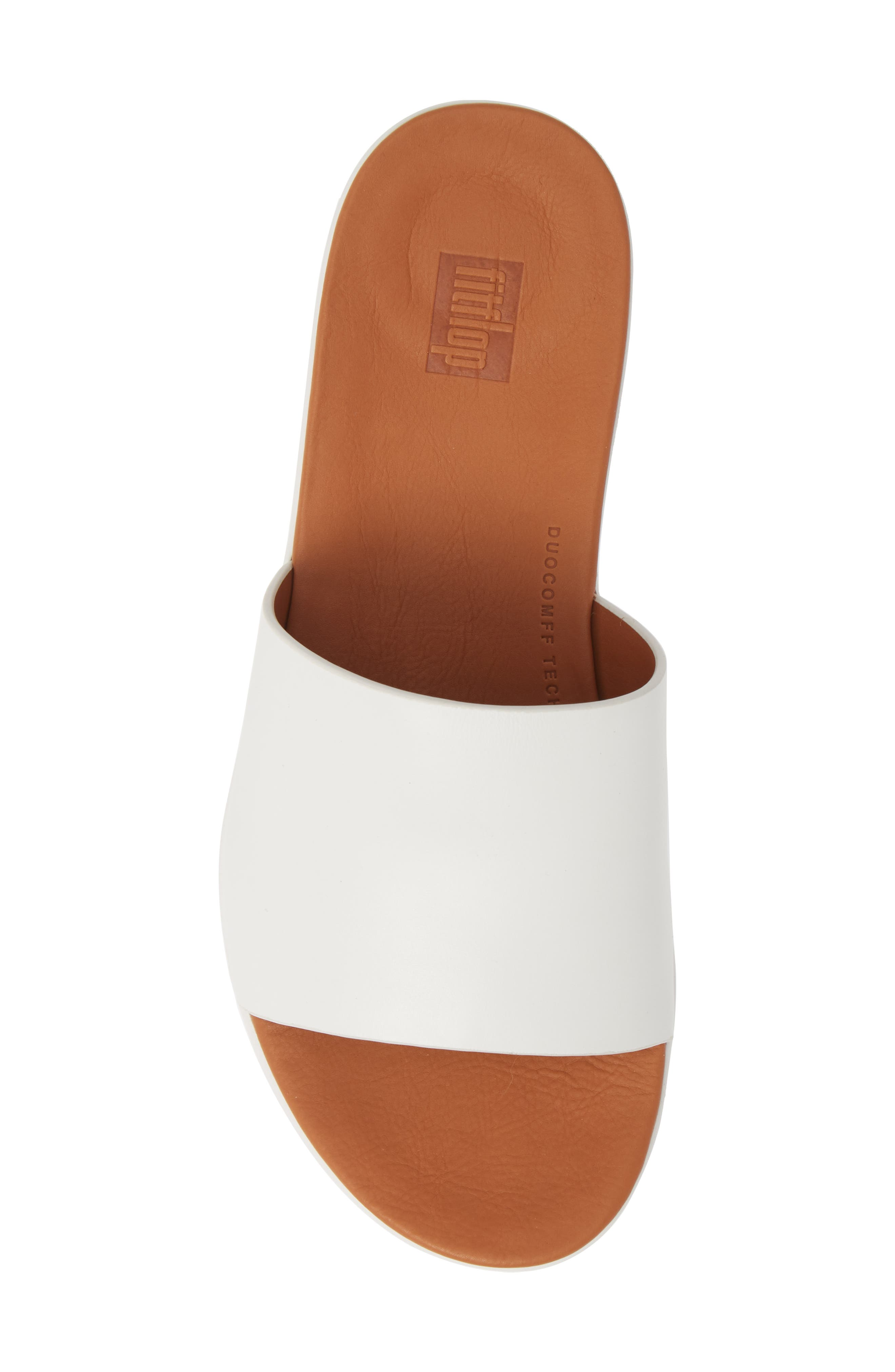 FITFLOP,                             Sola Sandal,                             Alternate thumbnail 5, color,                             URBAN WHITE LEATHER