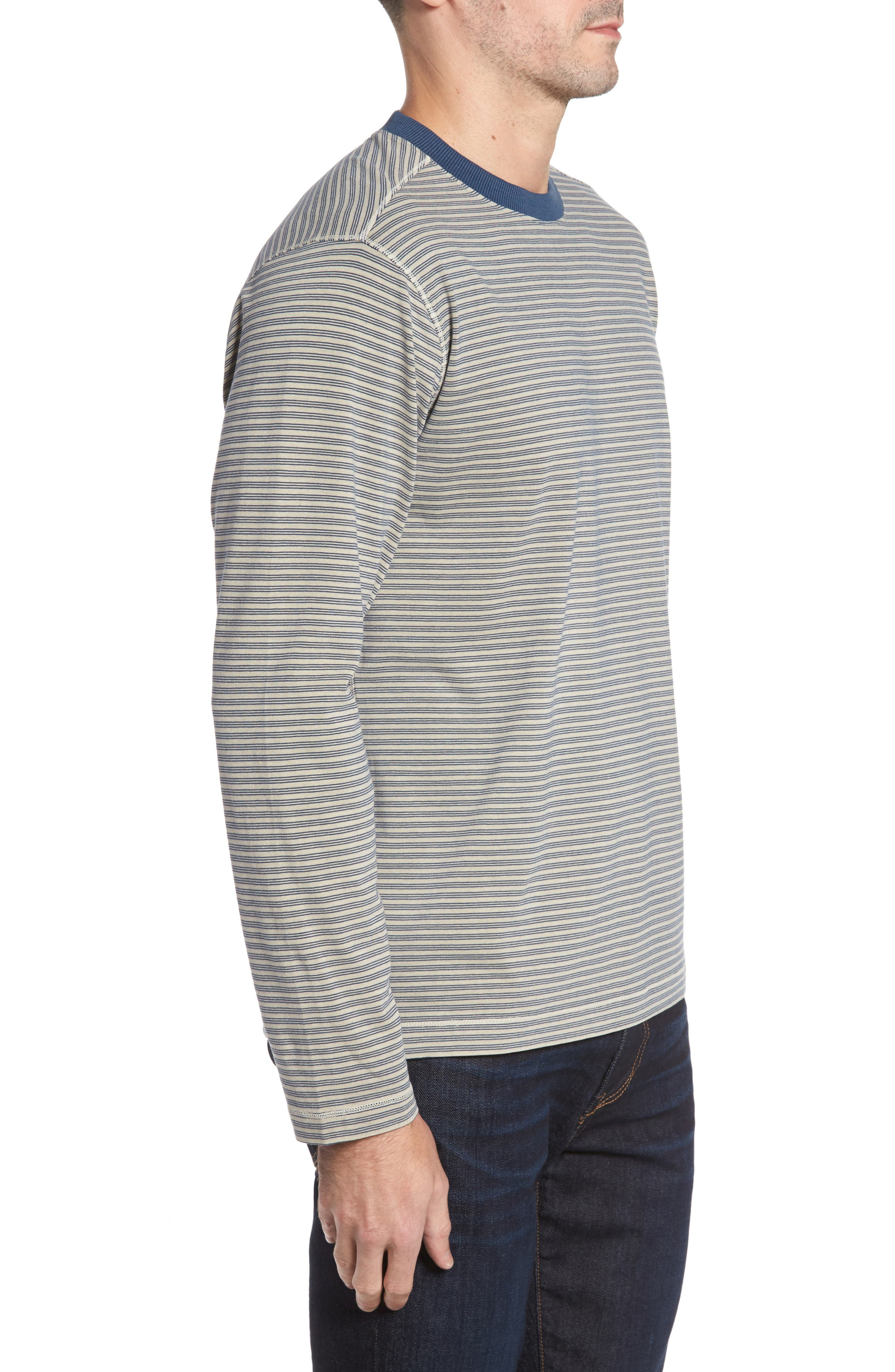 Iverson Long Sleeve Striped T-Shirt,                             Alternate thumbnail 3, color,                             290