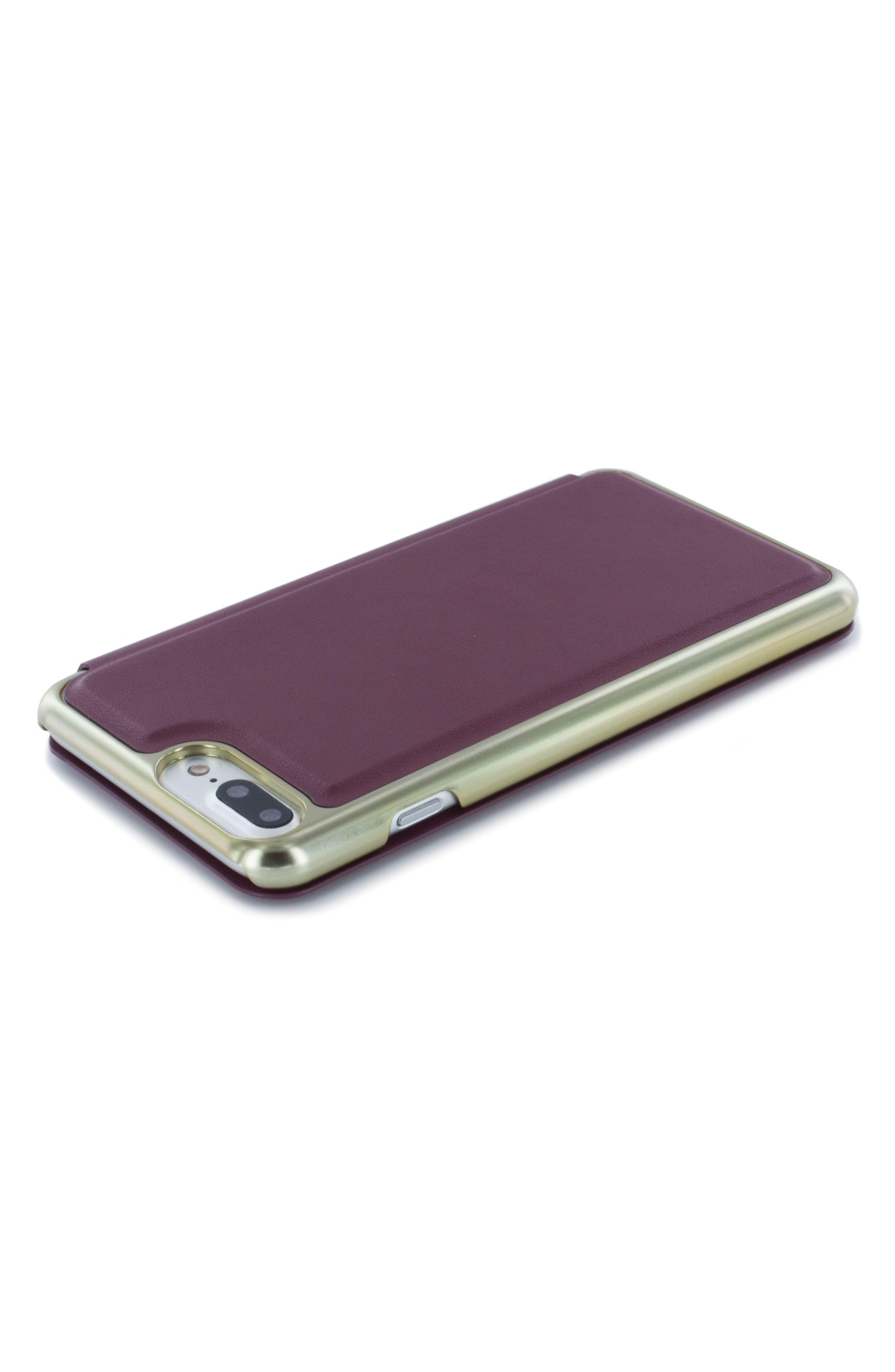 Shannon iPhone 6/6s/7/8 Plus Mirror Folio Case,                             Alternate thumbnail 4, color,                             601