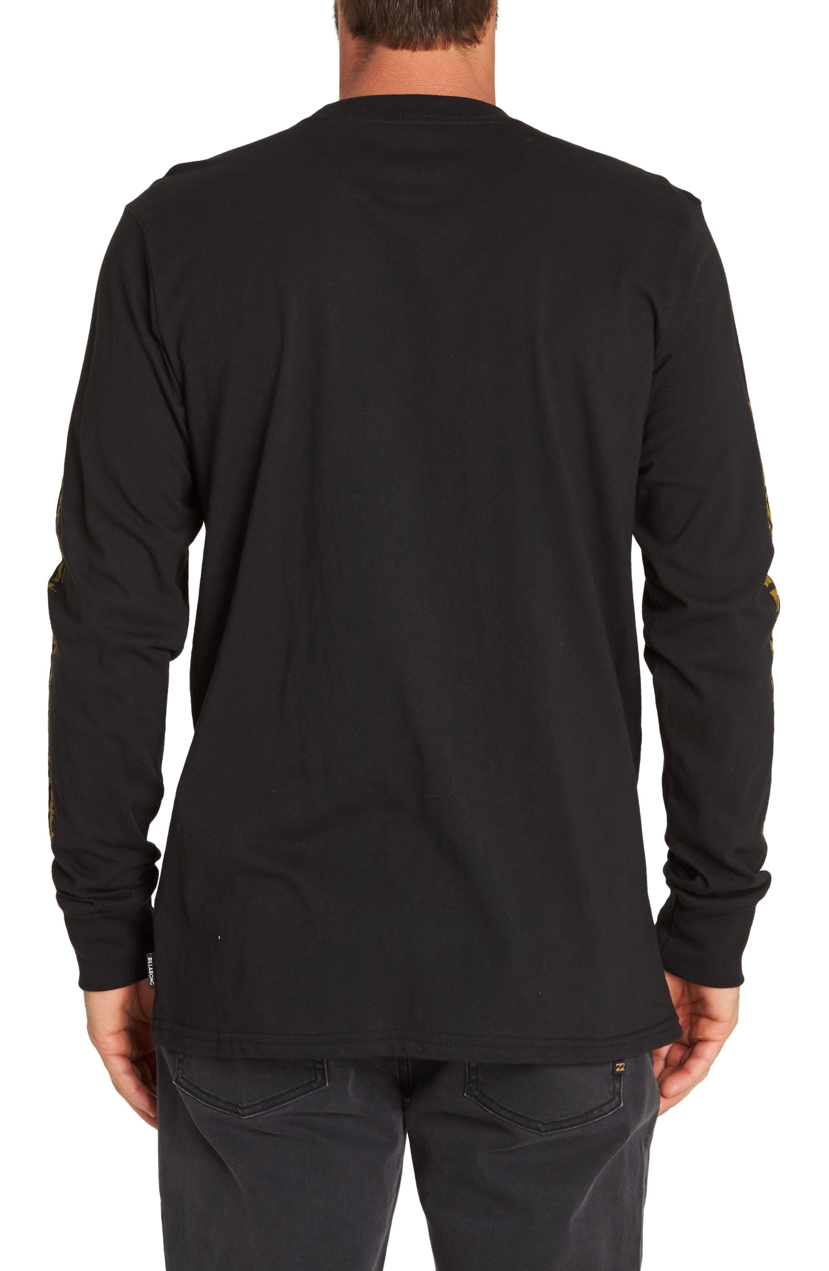 BILLABONG,                             Haze T-Shirt,                             Alternate thumbnail 2, color,                             001