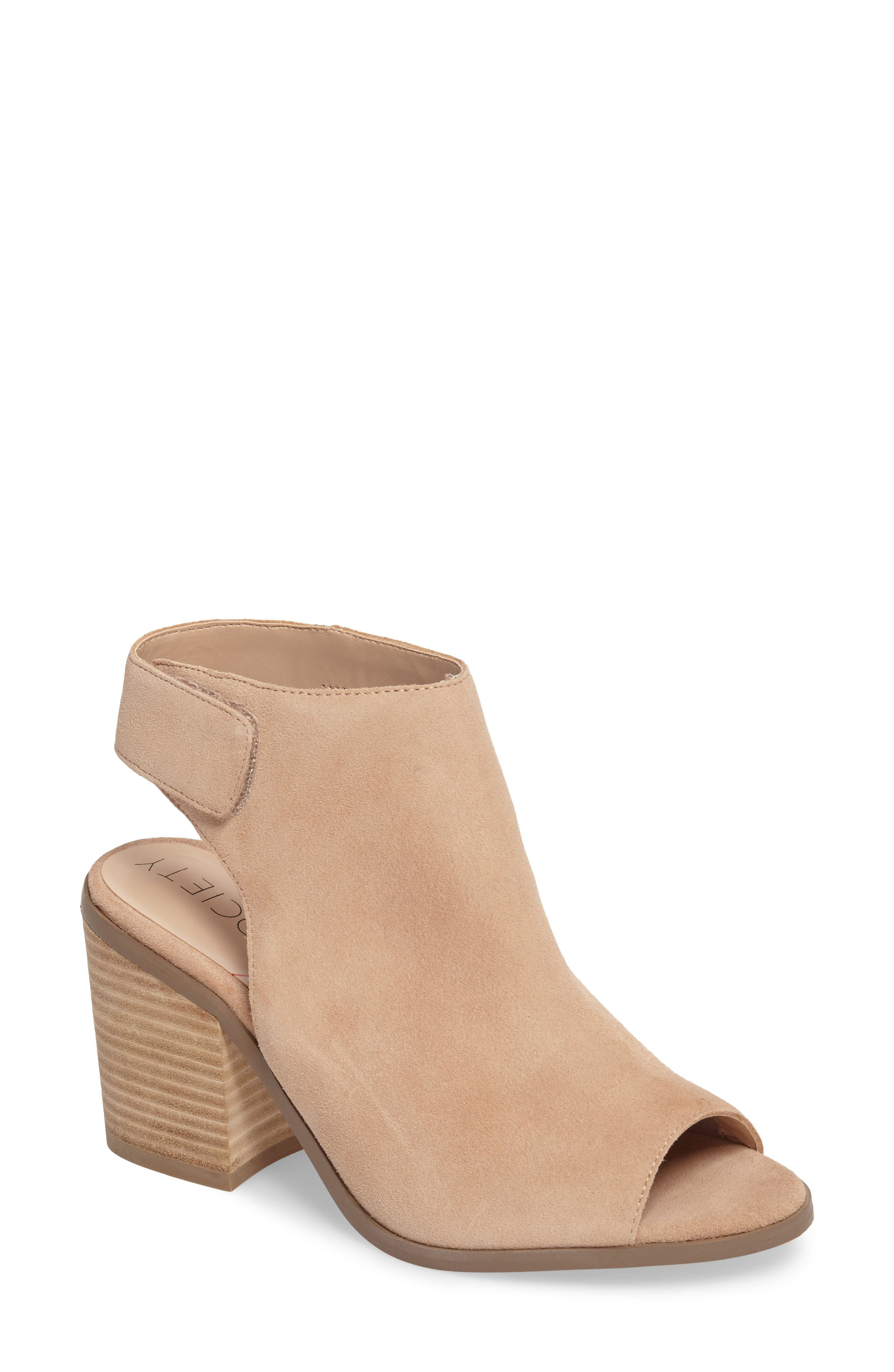 Peep Toe Sandal,                         Main,                         color, 209