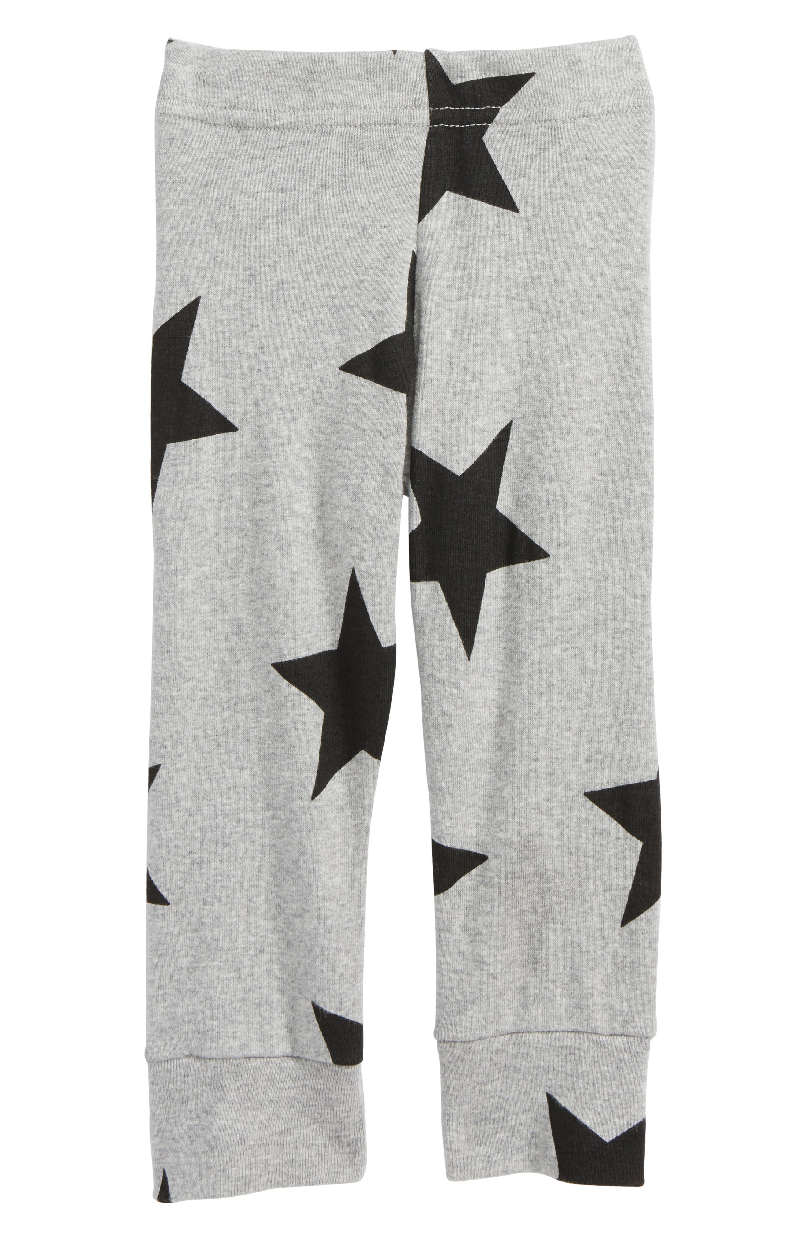 Star Print Pants,                         Main,                         color,
