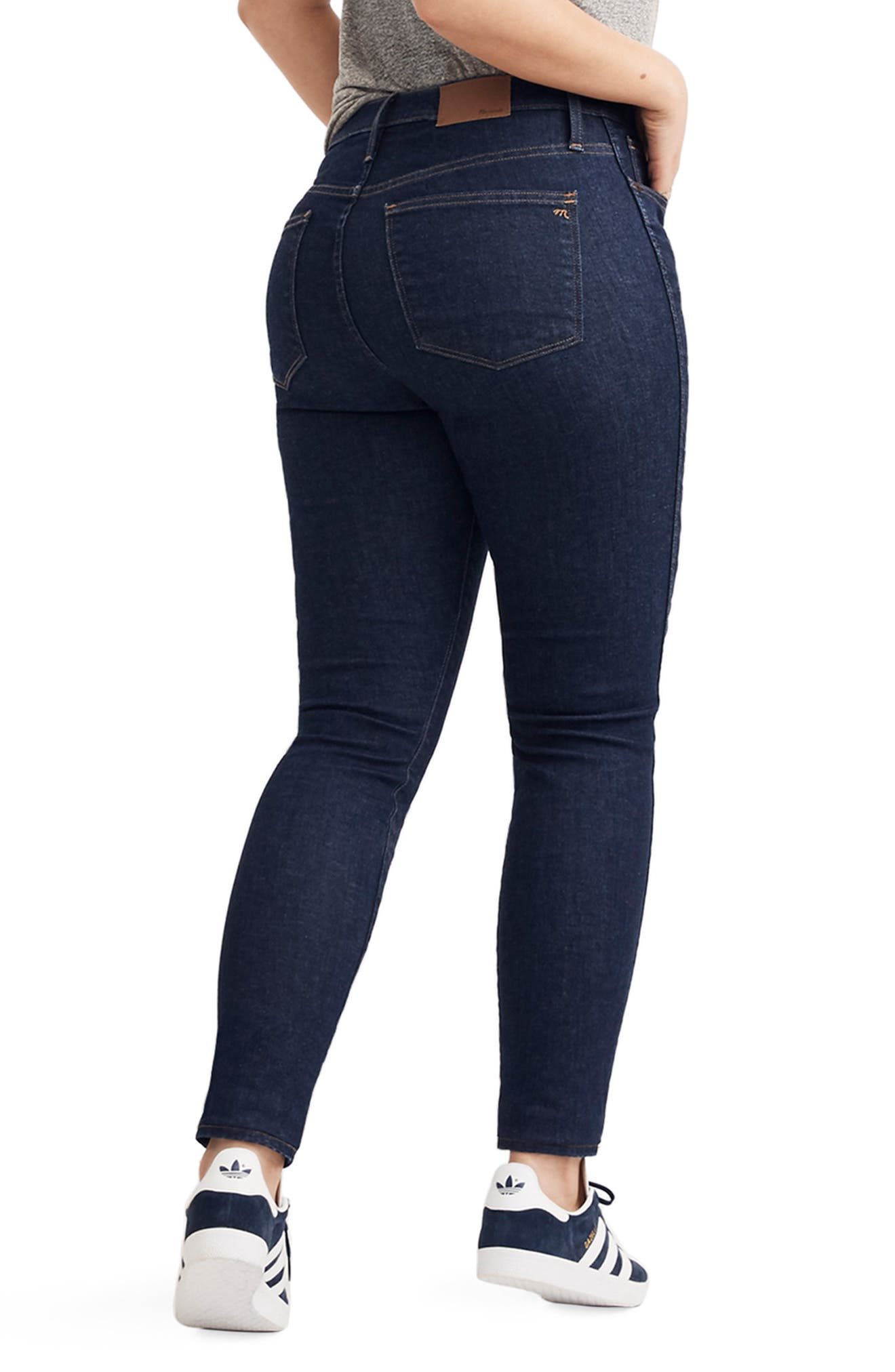 10-Inch High Waist Skinny Jeans,                             Alternate thumbnail 9, color,                             LUCILLE