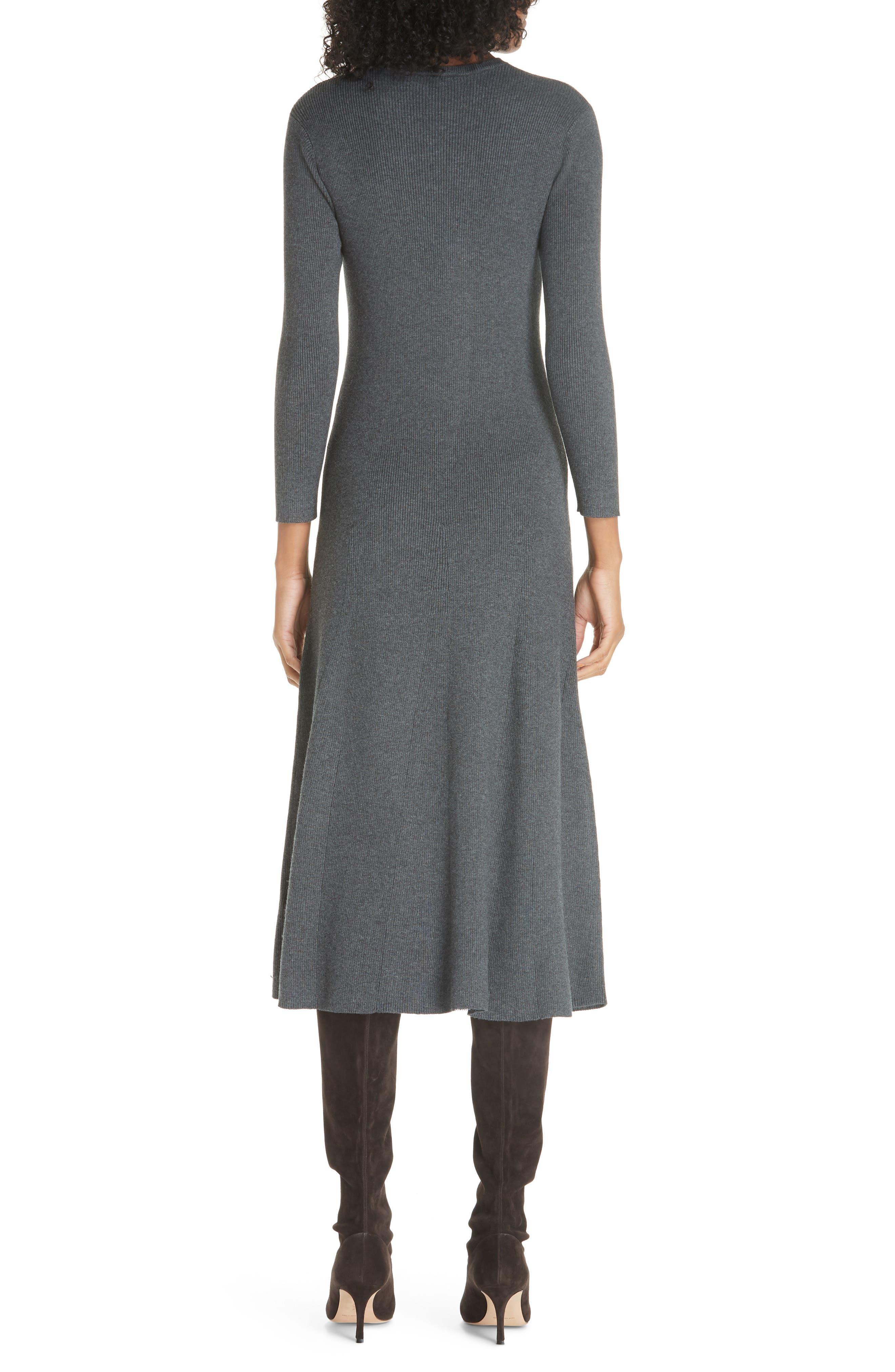 Midi Sweater Dress,                             Alternate thumbnail 2, color,                             020