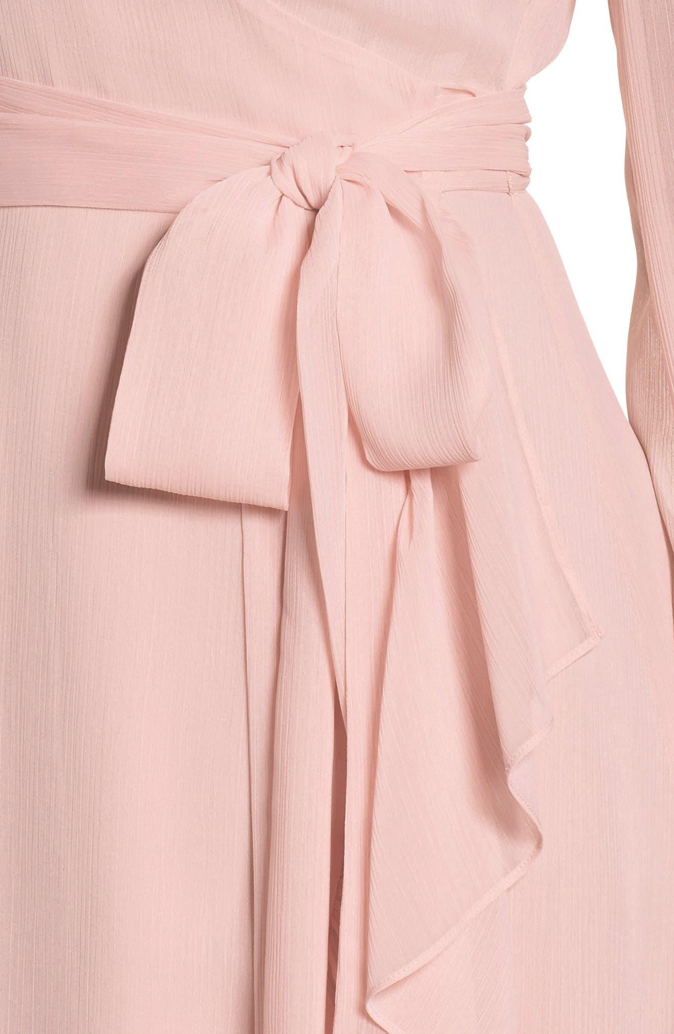 Meryl Long Sleeve Wrap Maxi Dress,                             Alternate thumbnail 4, color,                             650
