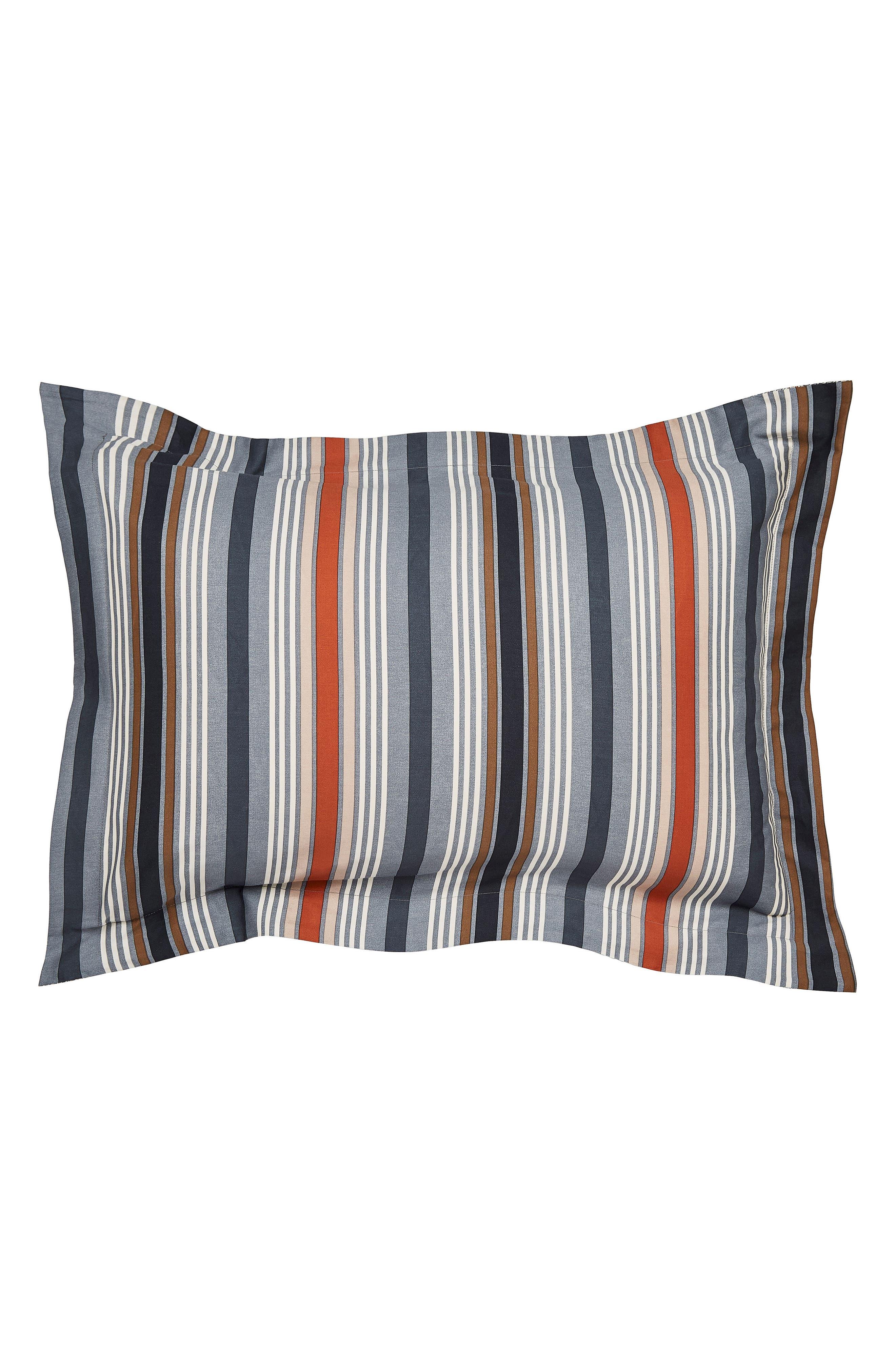 Alba Duvet Cover, Sham & Accent Pillow Set,                             Alternate thumbnail 4, color,                             BLUE