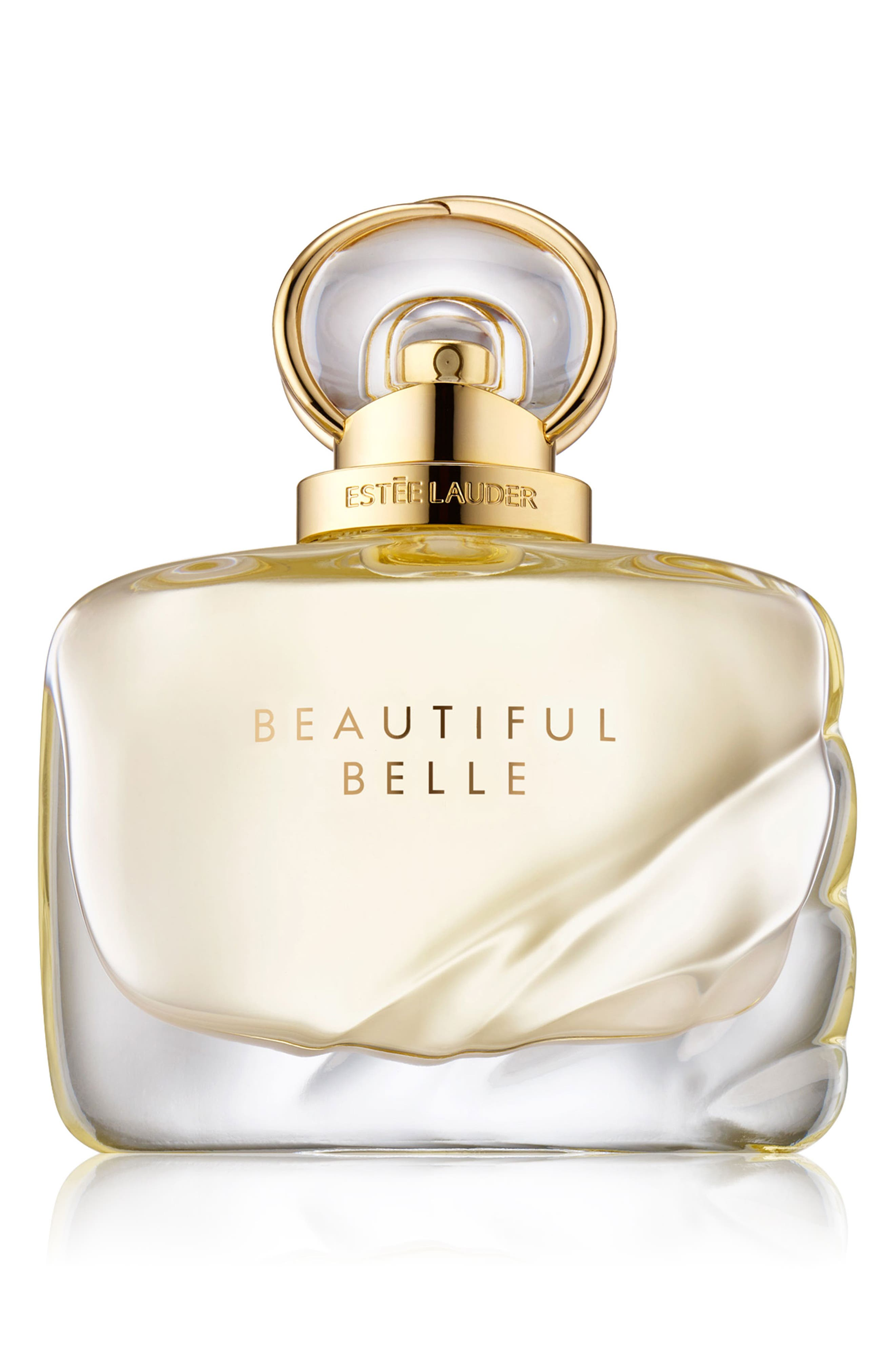 Beautiful Belle Eau de Parfum Spray,                             Main thumbnail 1, color,                             NO COLOR