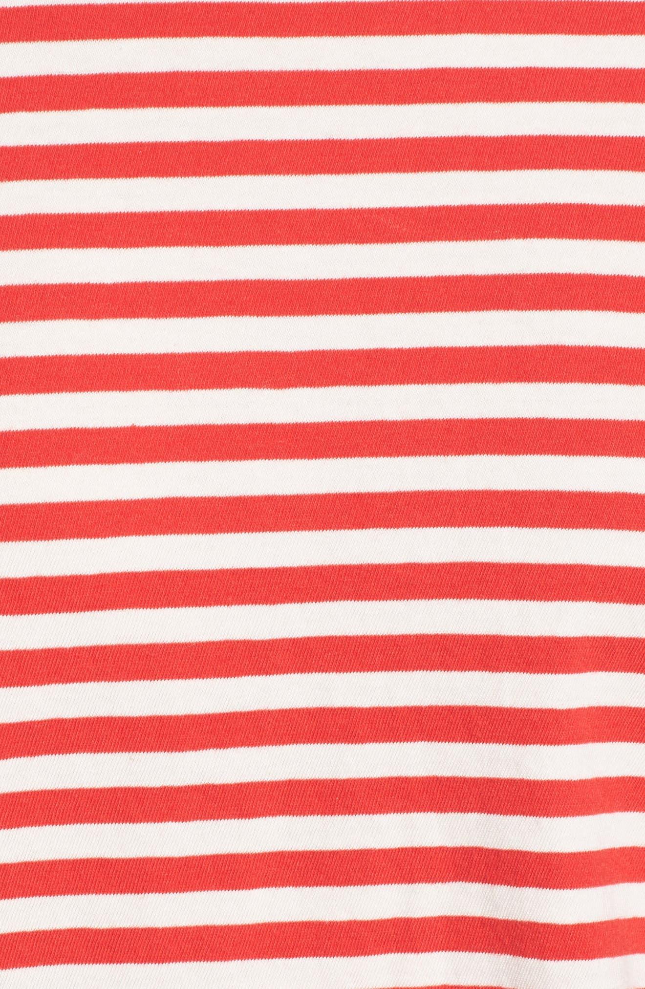 Classic Fit Breton Stripe T-Shirt,                             Alternate thumbnail 5, color,                             611