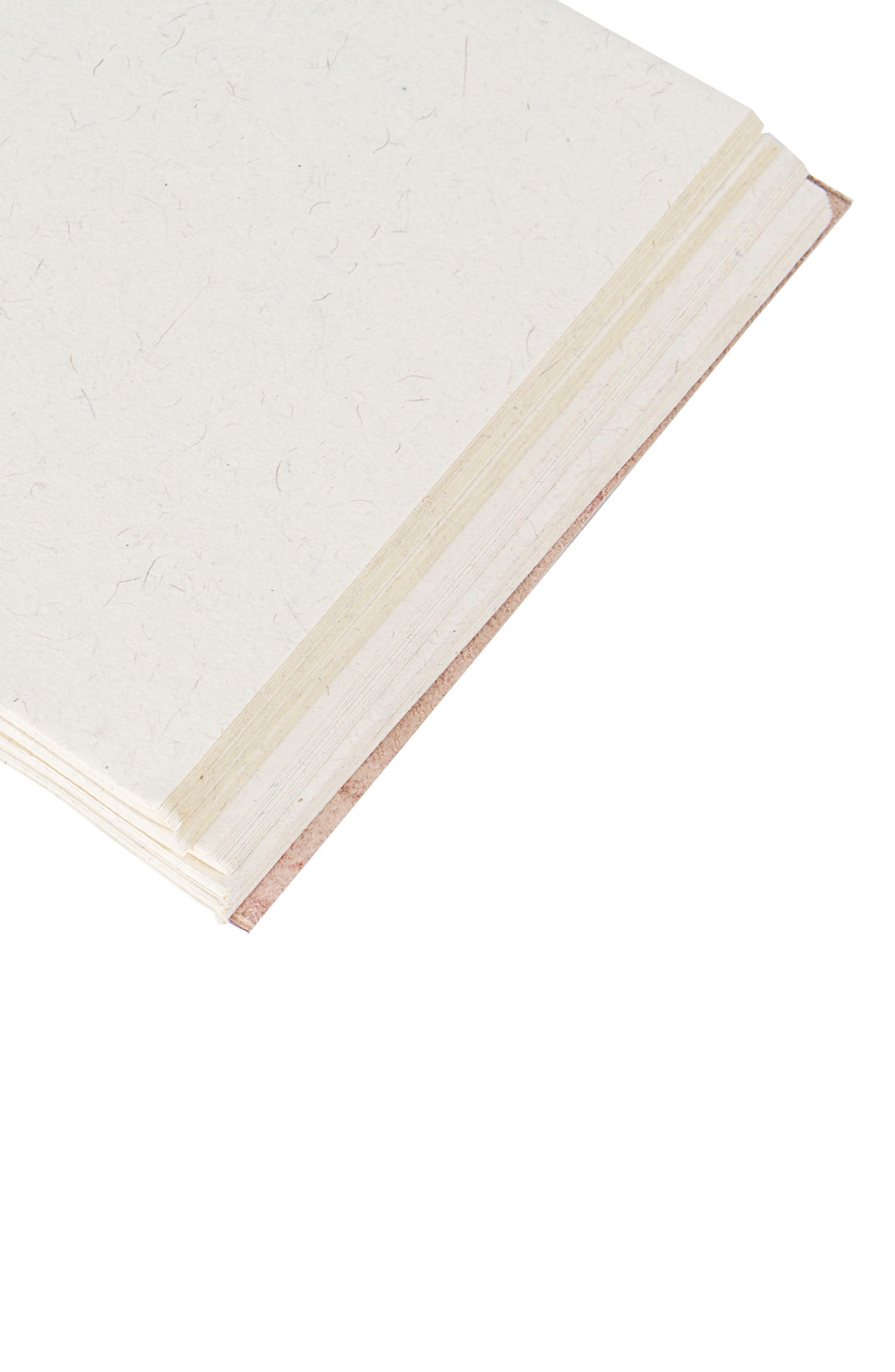 Monogram Leather Guest Book,                             Alternate thumbnail 2, color,                             710