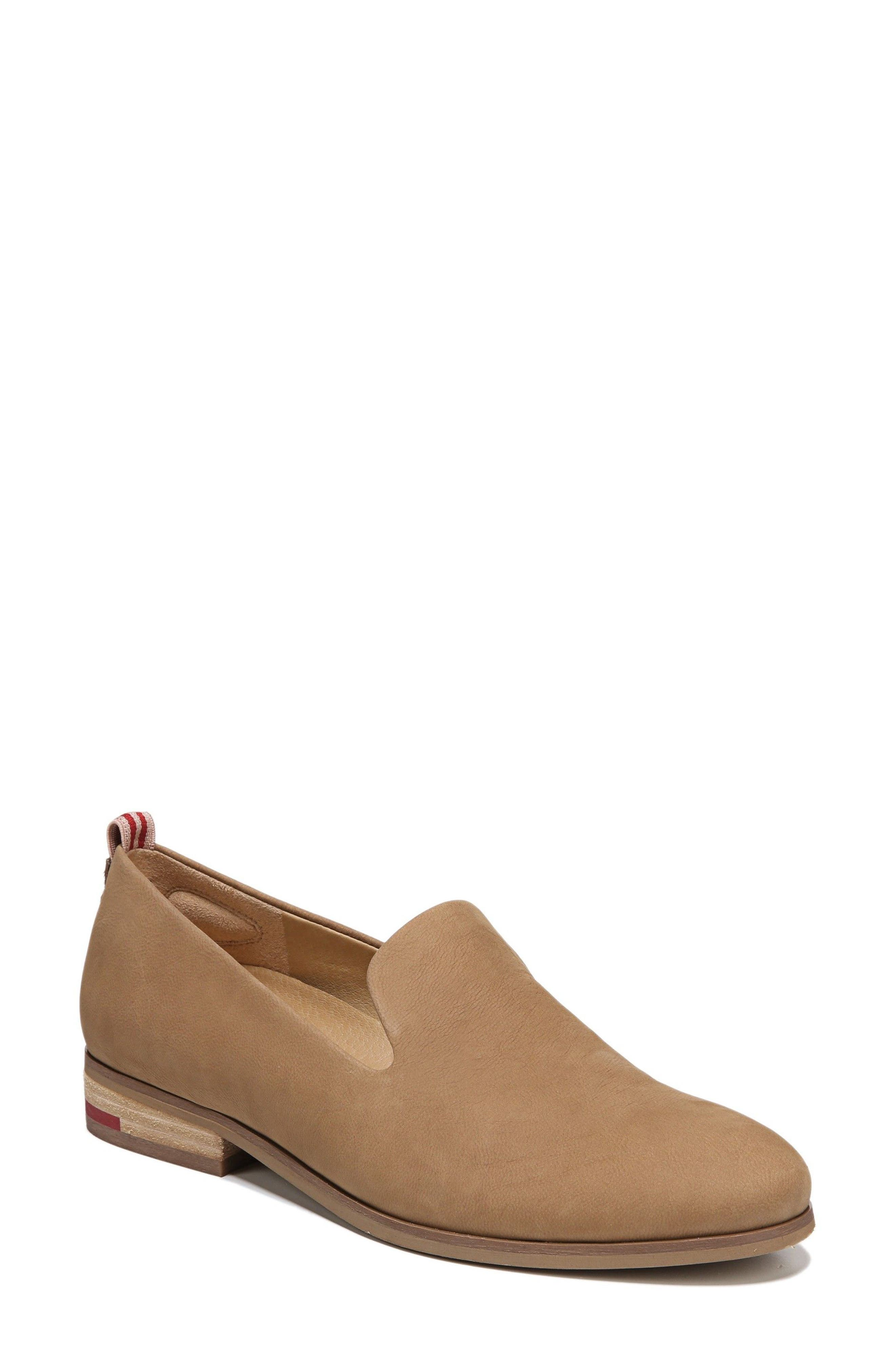East Flat,                             Main thumbnail 1, color,                             BROWN LEATHER