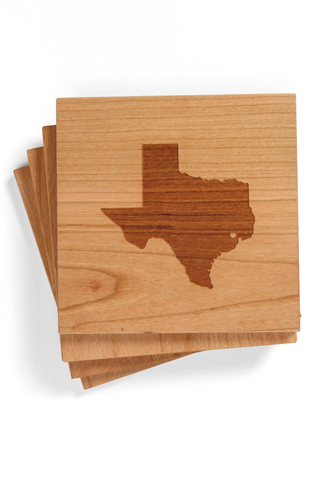 'State Silhouette' Coasters,                             Main thumbnail 16, color,