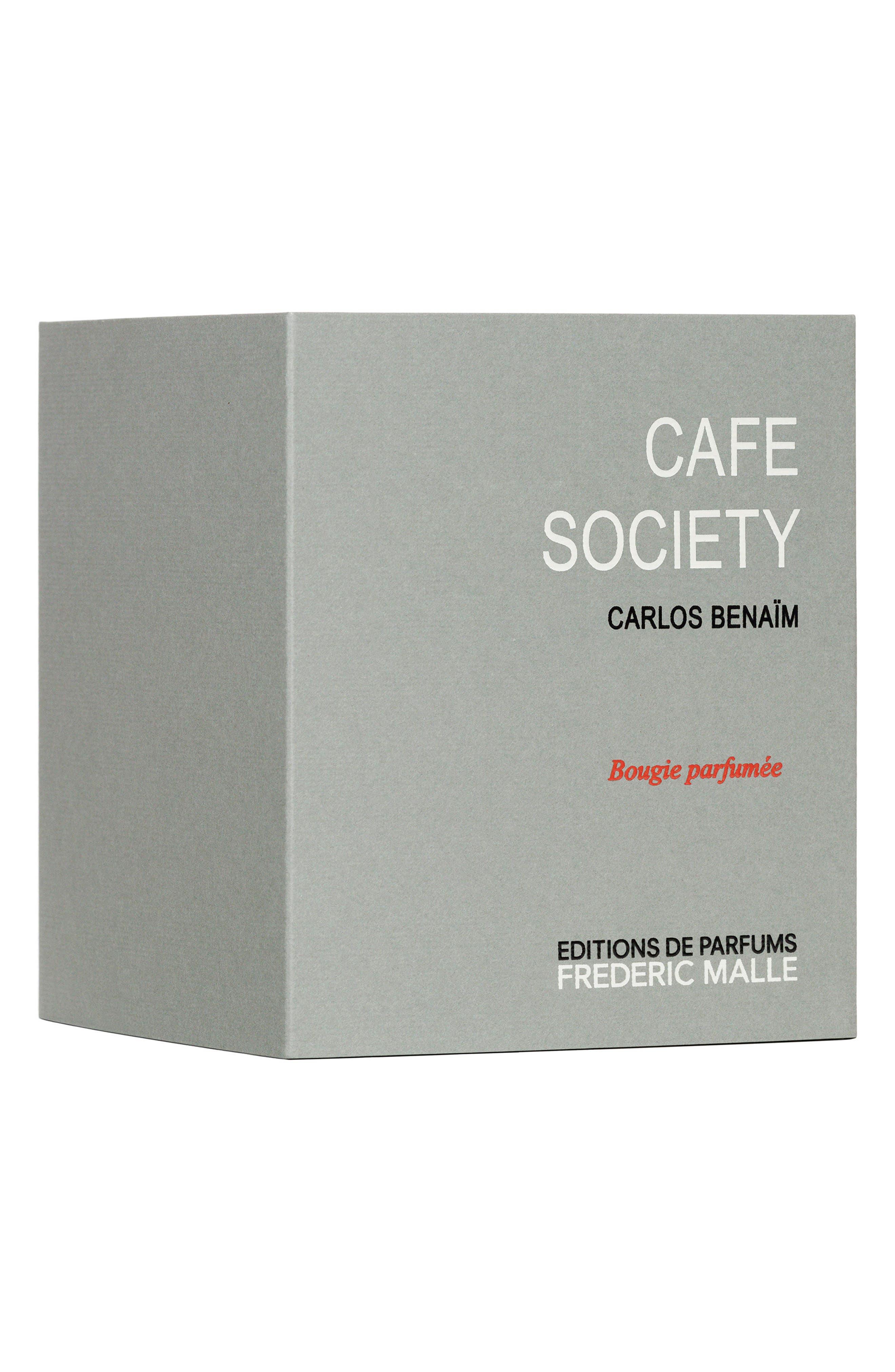 Editions de Parfums Frédéric Malle Café Society Candle,                             Alternate thumbnail 3, color,