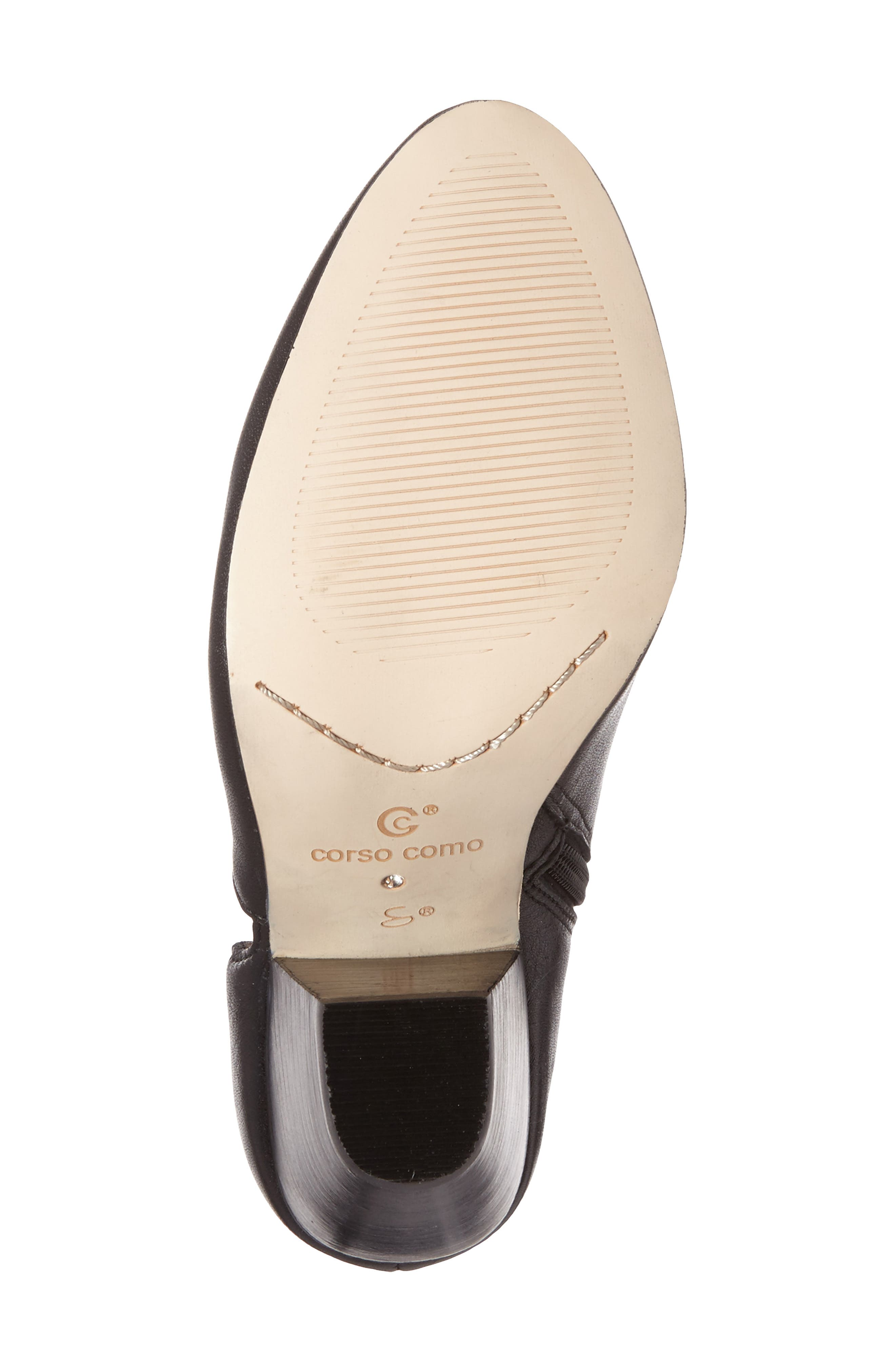 'Yonkers' Almond Toe Cutout Bootie,                             Alternate thumbnail 4, color,                             004