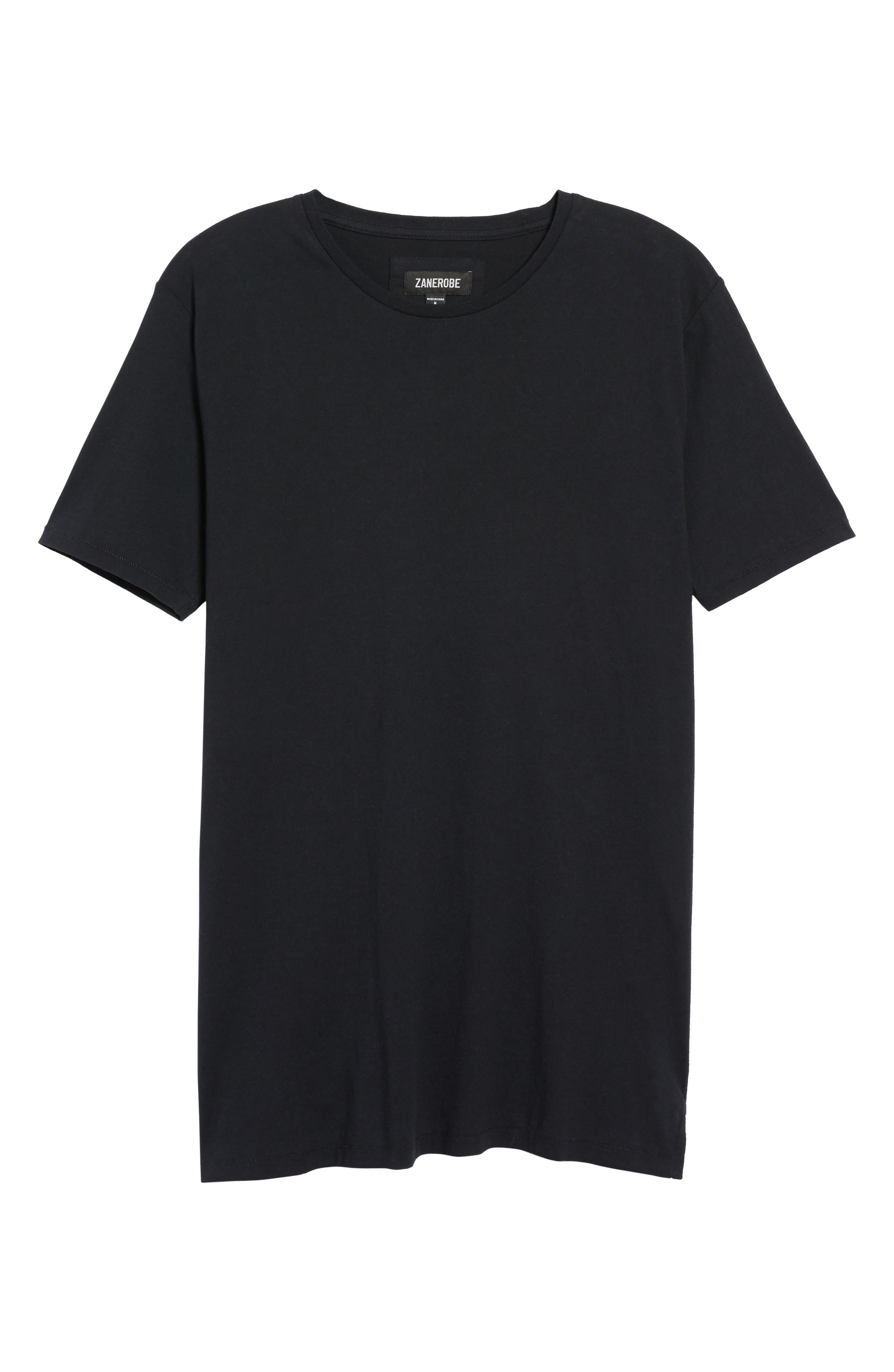 Flintlock Longline T-Shirt,                             Main thumbnail 1, color,                             001